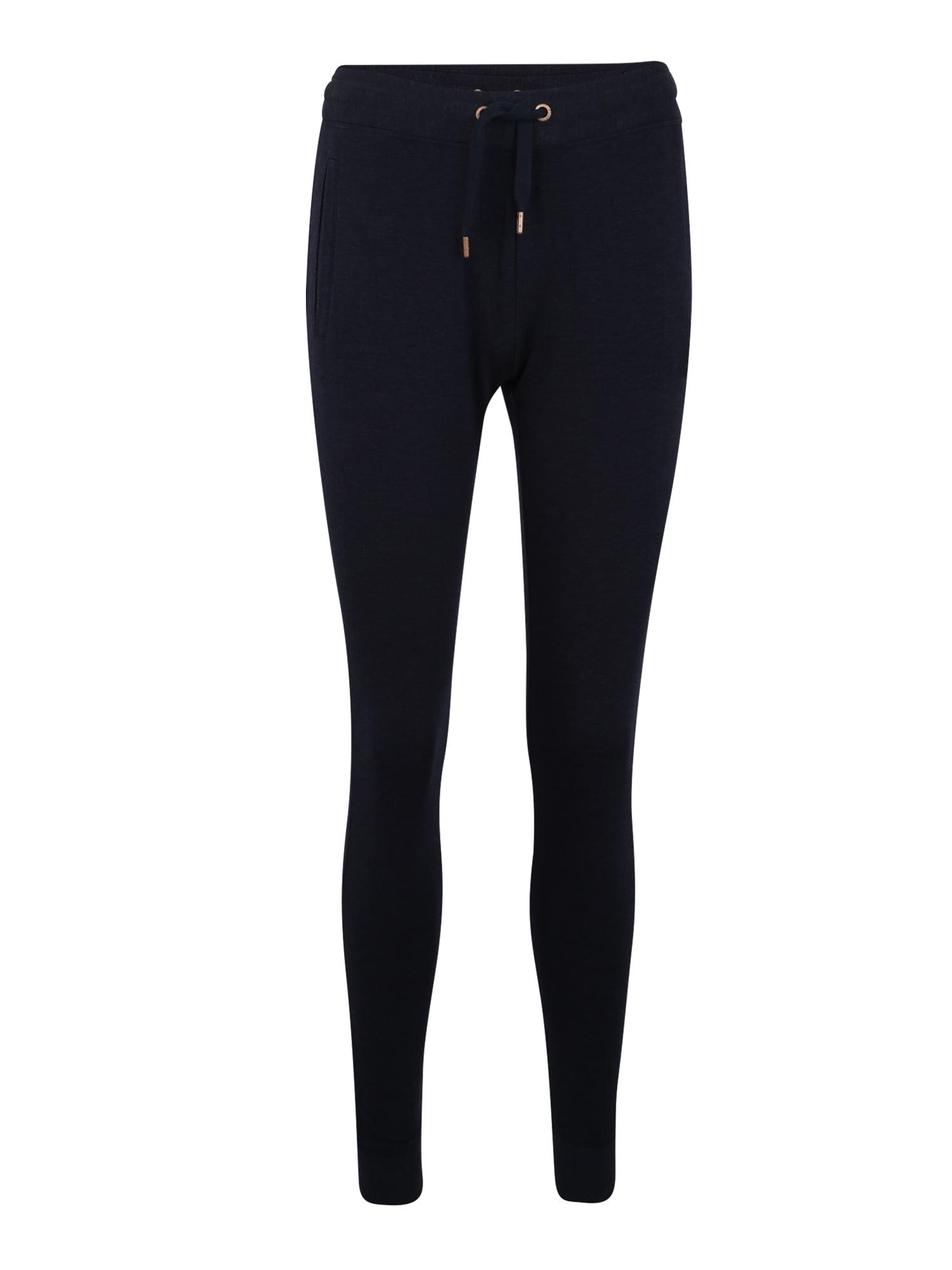 Sportovní kalhoty ACTIVE STUDIO LUXE JOGGER tmavě modrá Superdry