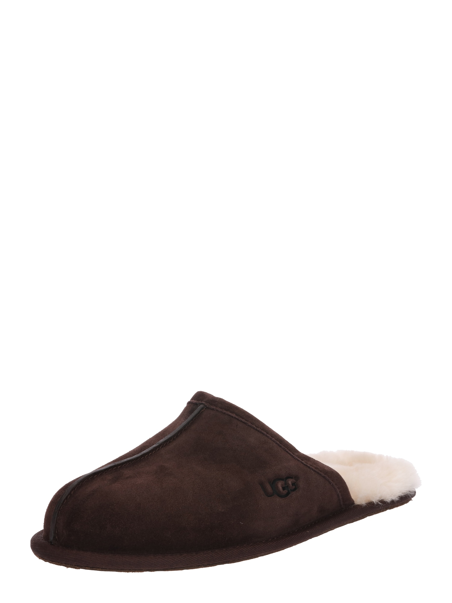 Pantofle Scuff tmavě hnědá UGG