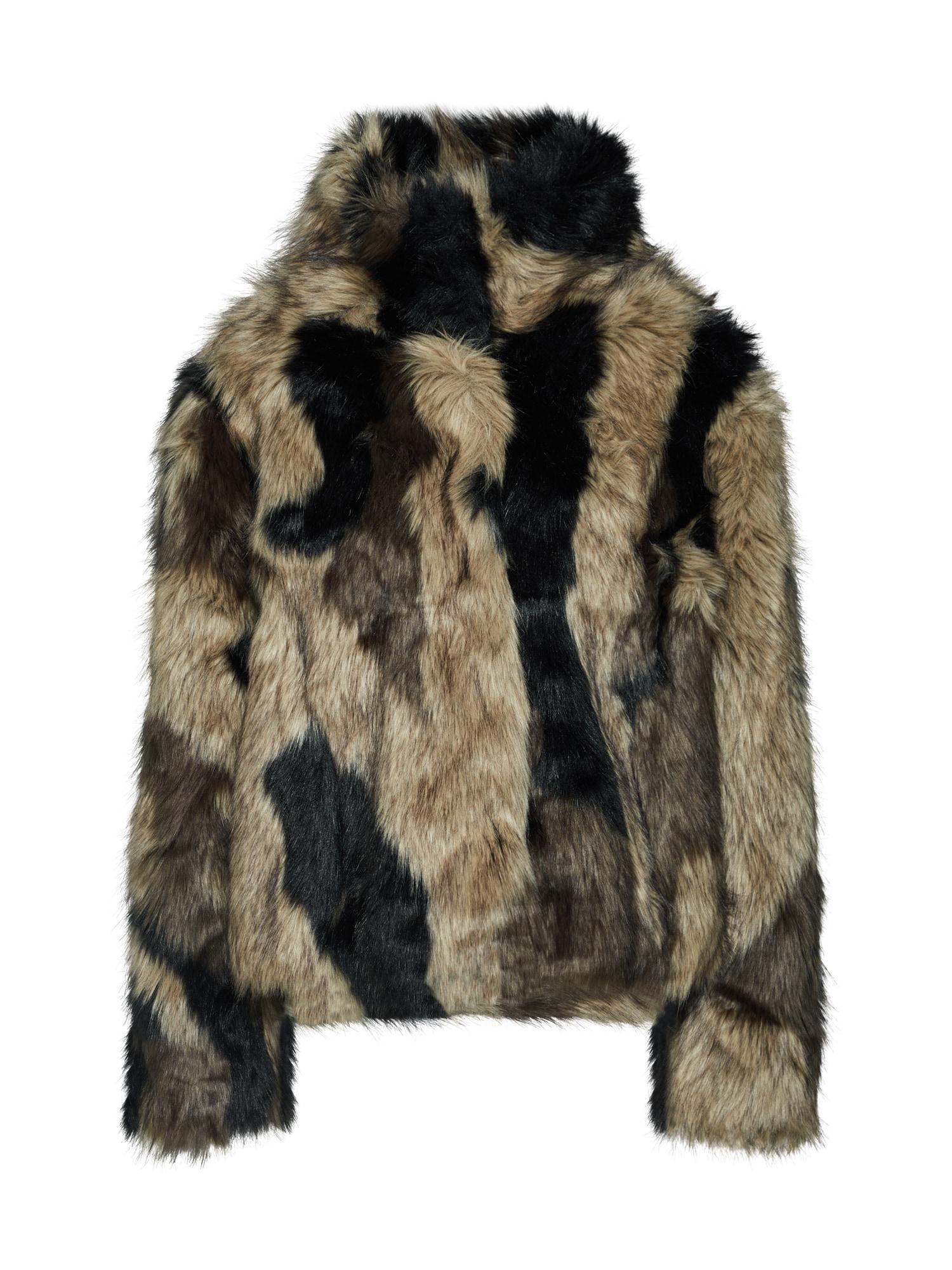 Přechodná bunda hnědá černá Bik Bok