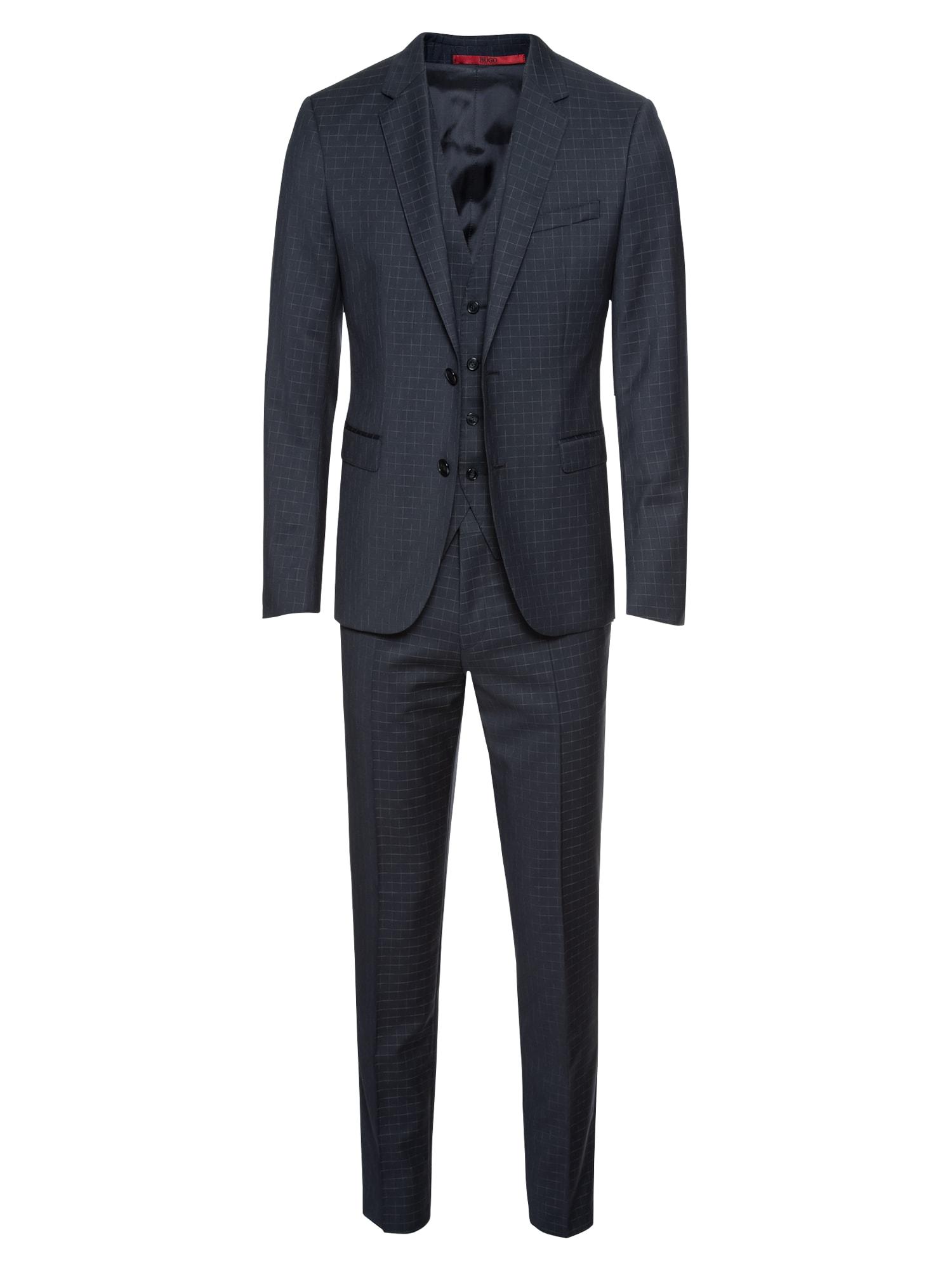 Oblek AstianHets182V1 10207418 0 námořnická modř HUGO