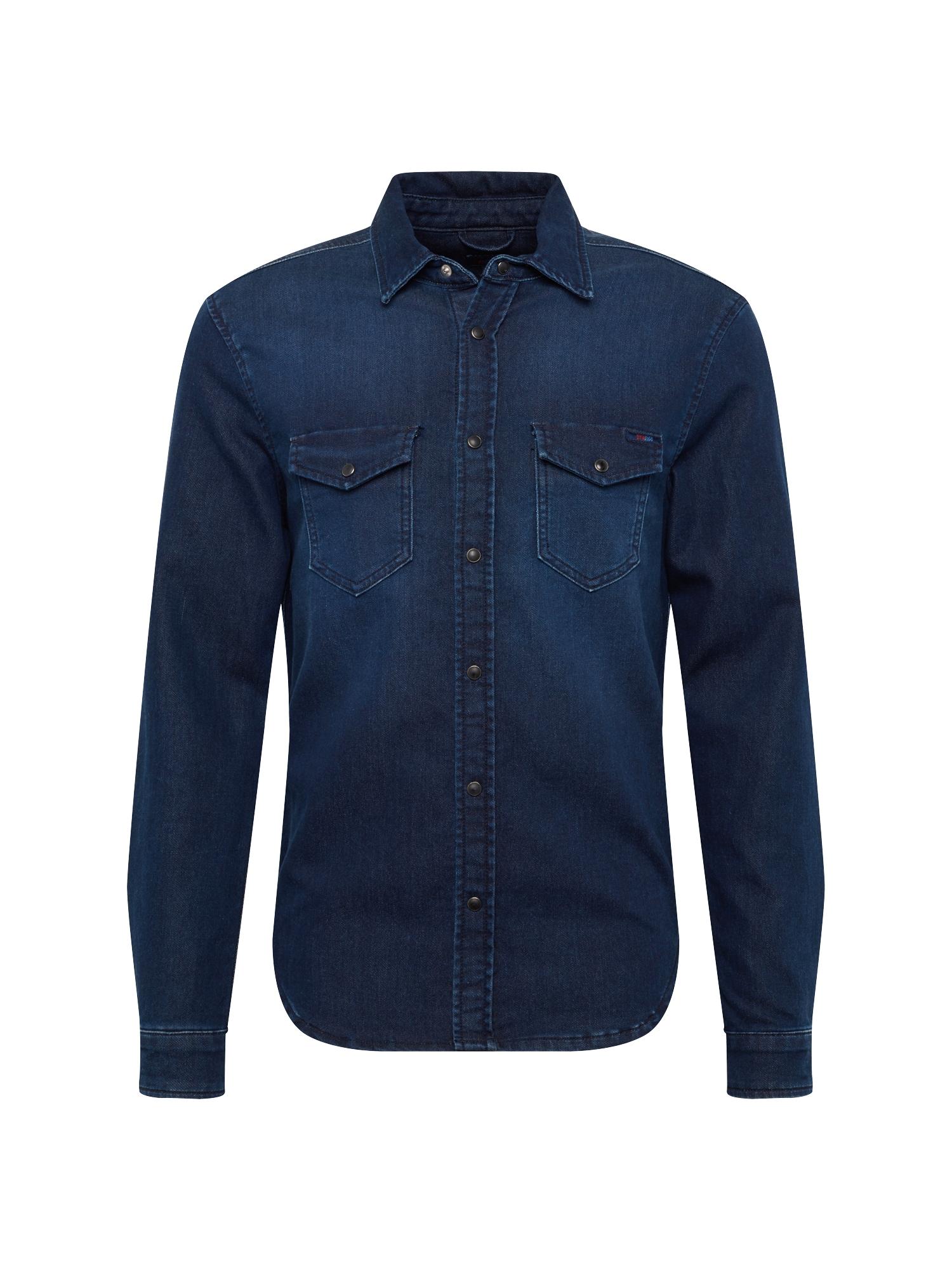Košile JEPSON modrá džínovina Pepe Jeans
