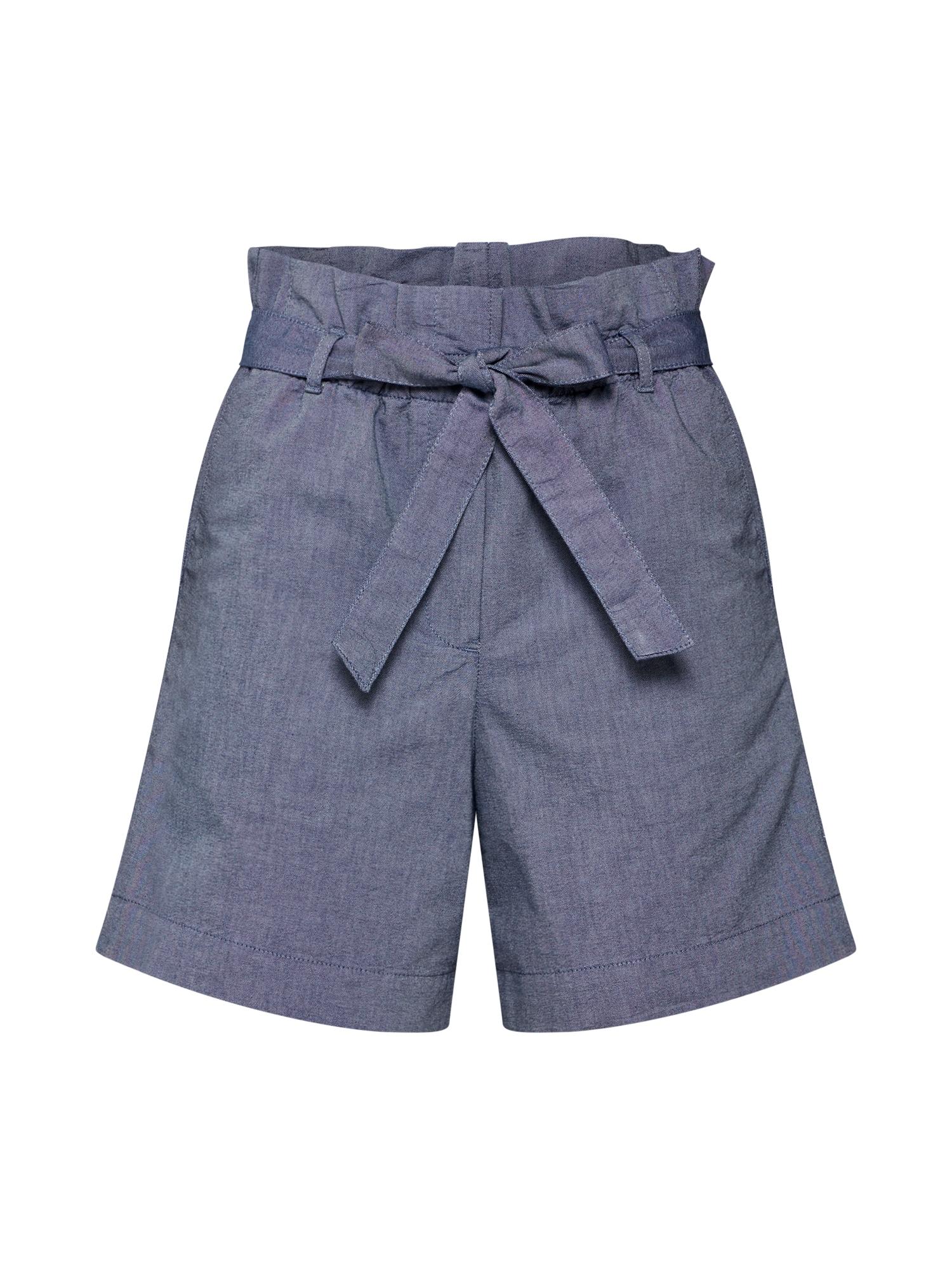 Kalhoty TAABITHA CHAMBRAY modrá ARMEDANGELS