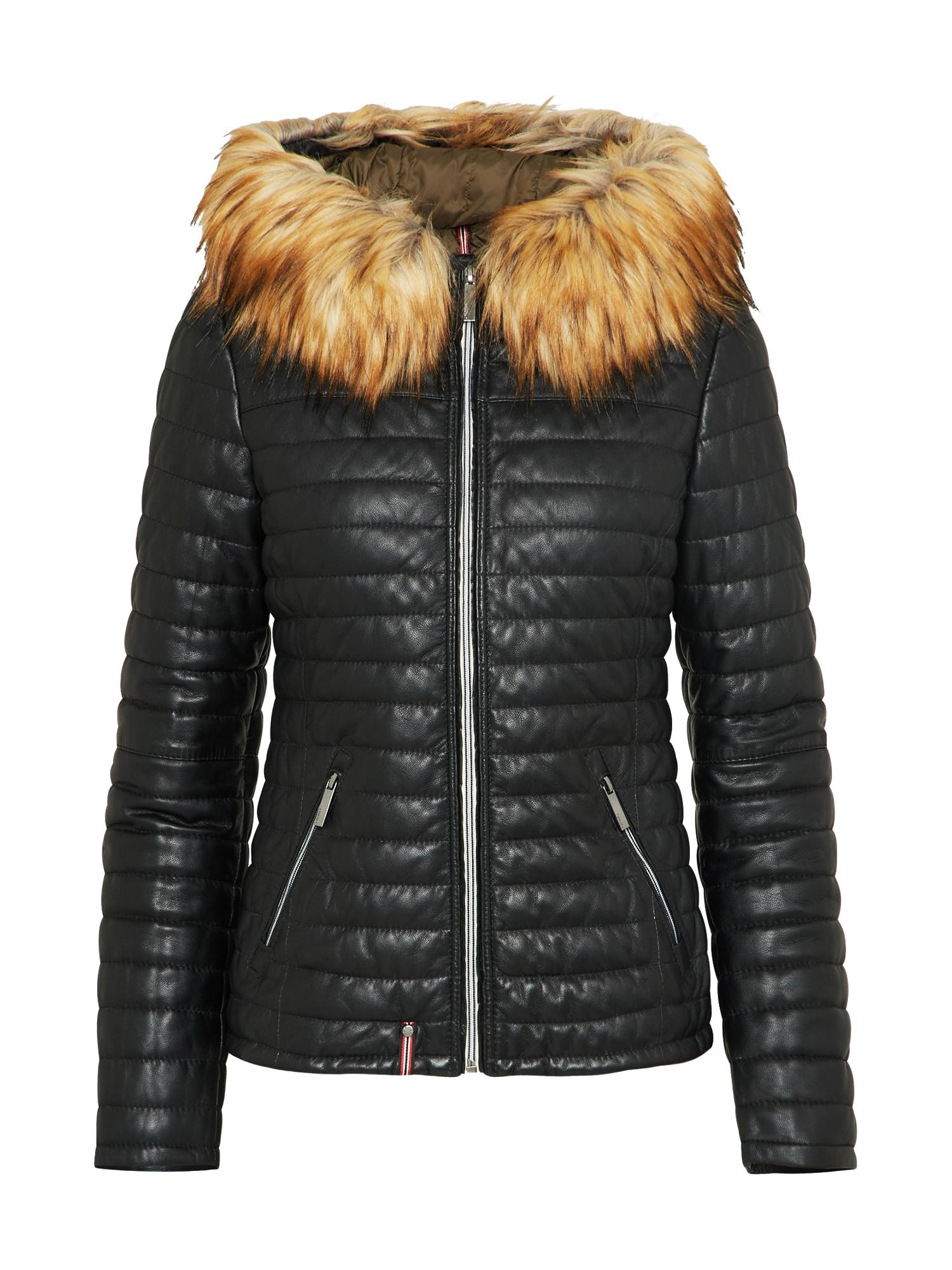 Zimní bunda černá OAKWOOD