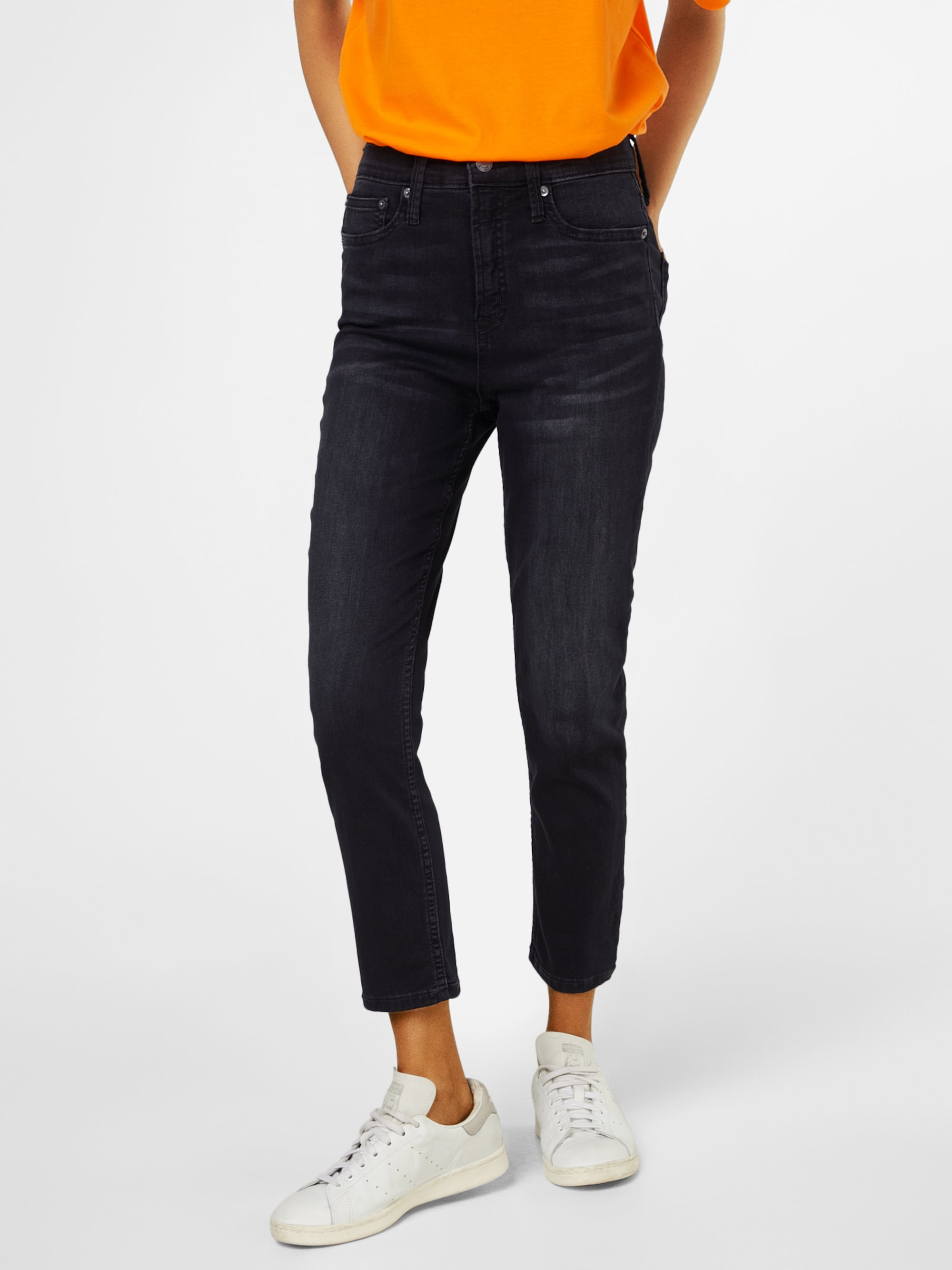 Jeans 'SH STRETCH TR SKINNY SHR CROP BLK VOLCANO'