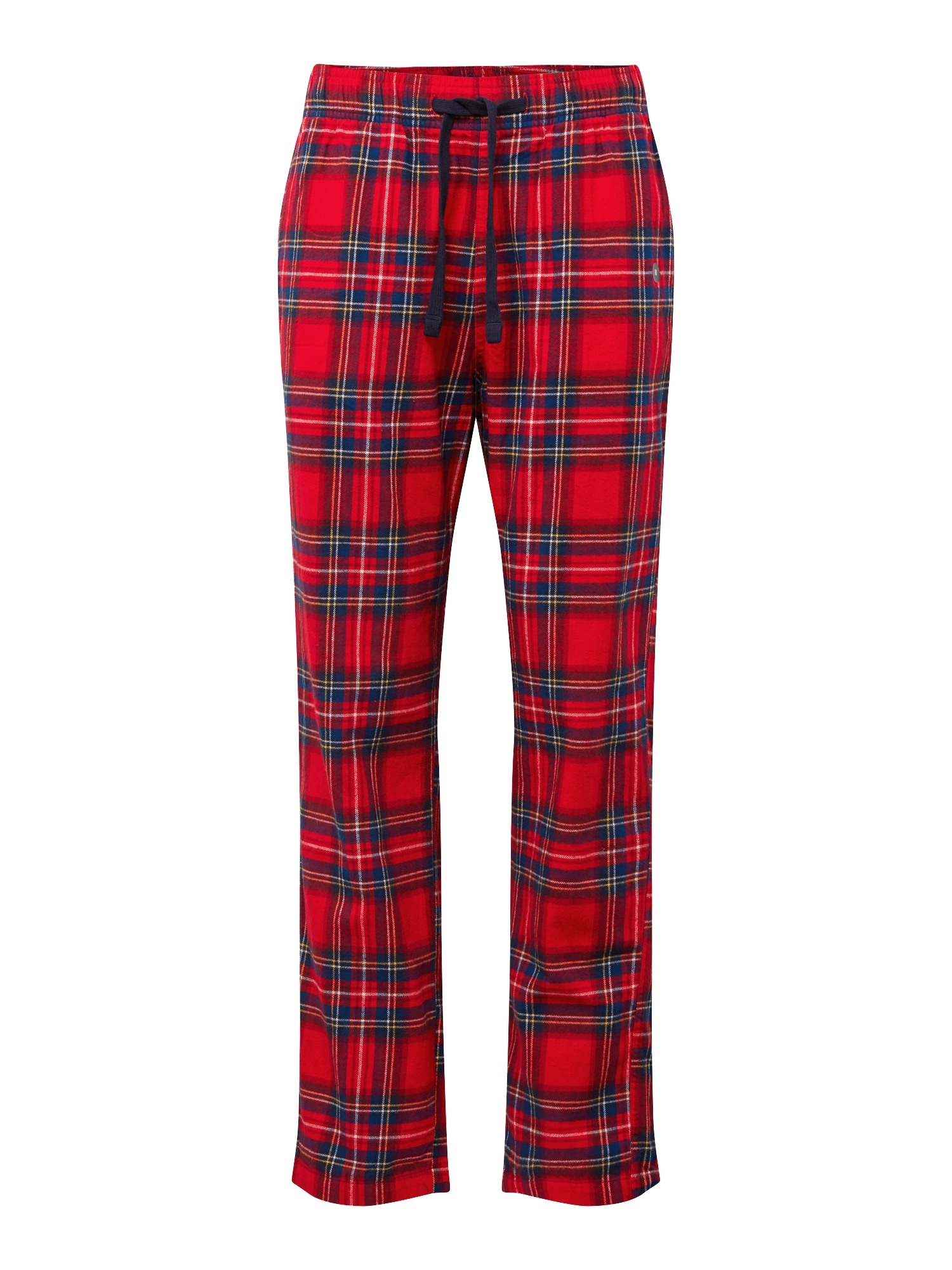 Pyžamové kalhoty tmavě modrá červená bílá HOLLISTER