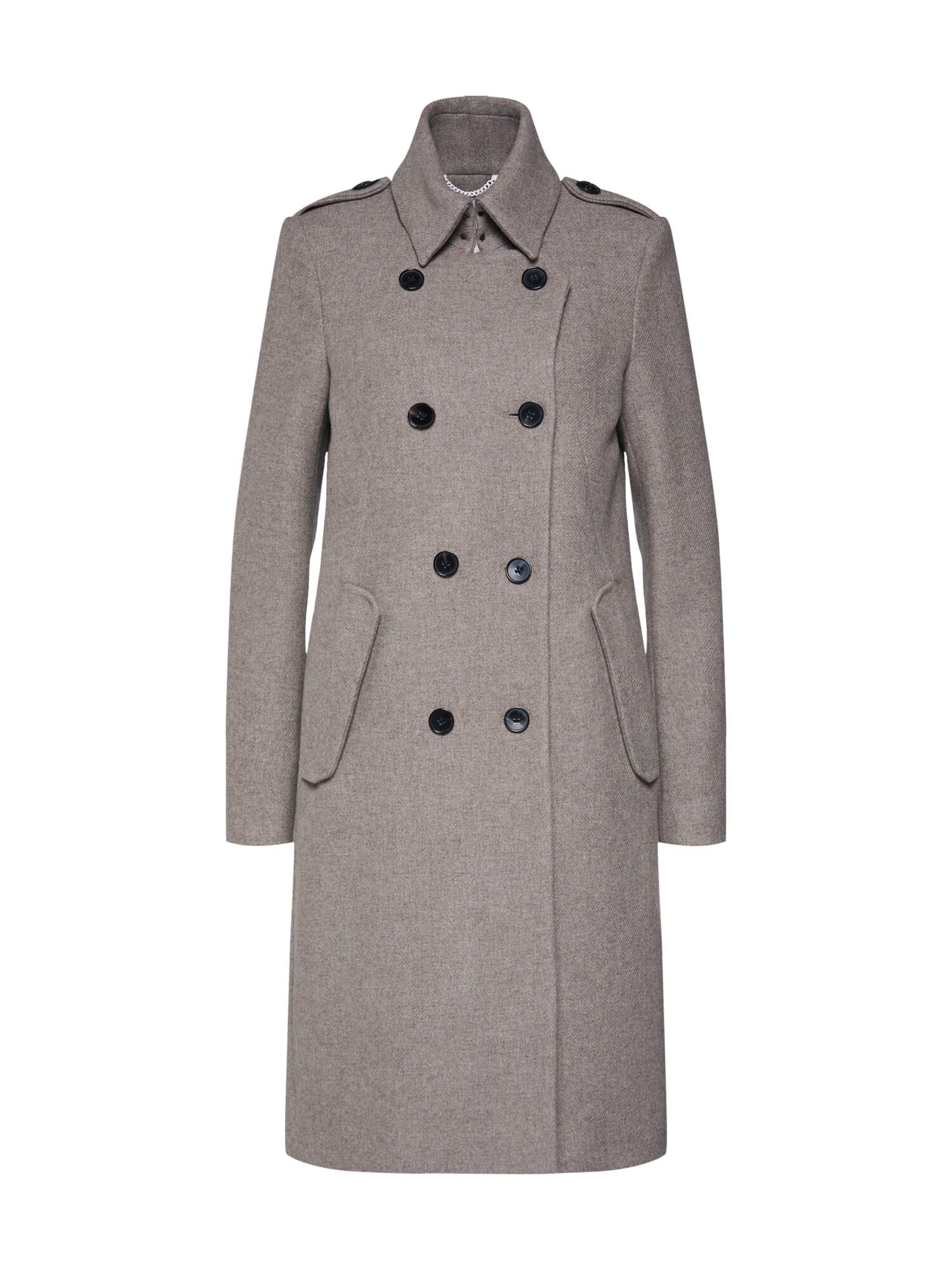 Zimní kabát BUCKEY světle šedá DRYKORN