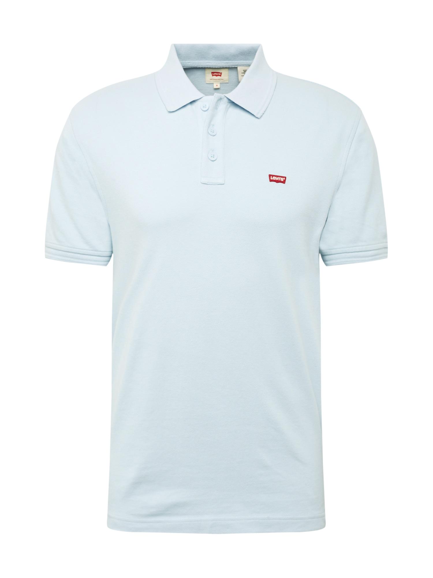 LEVIS Tričko Housemark světlemodrá červená LEVI'S