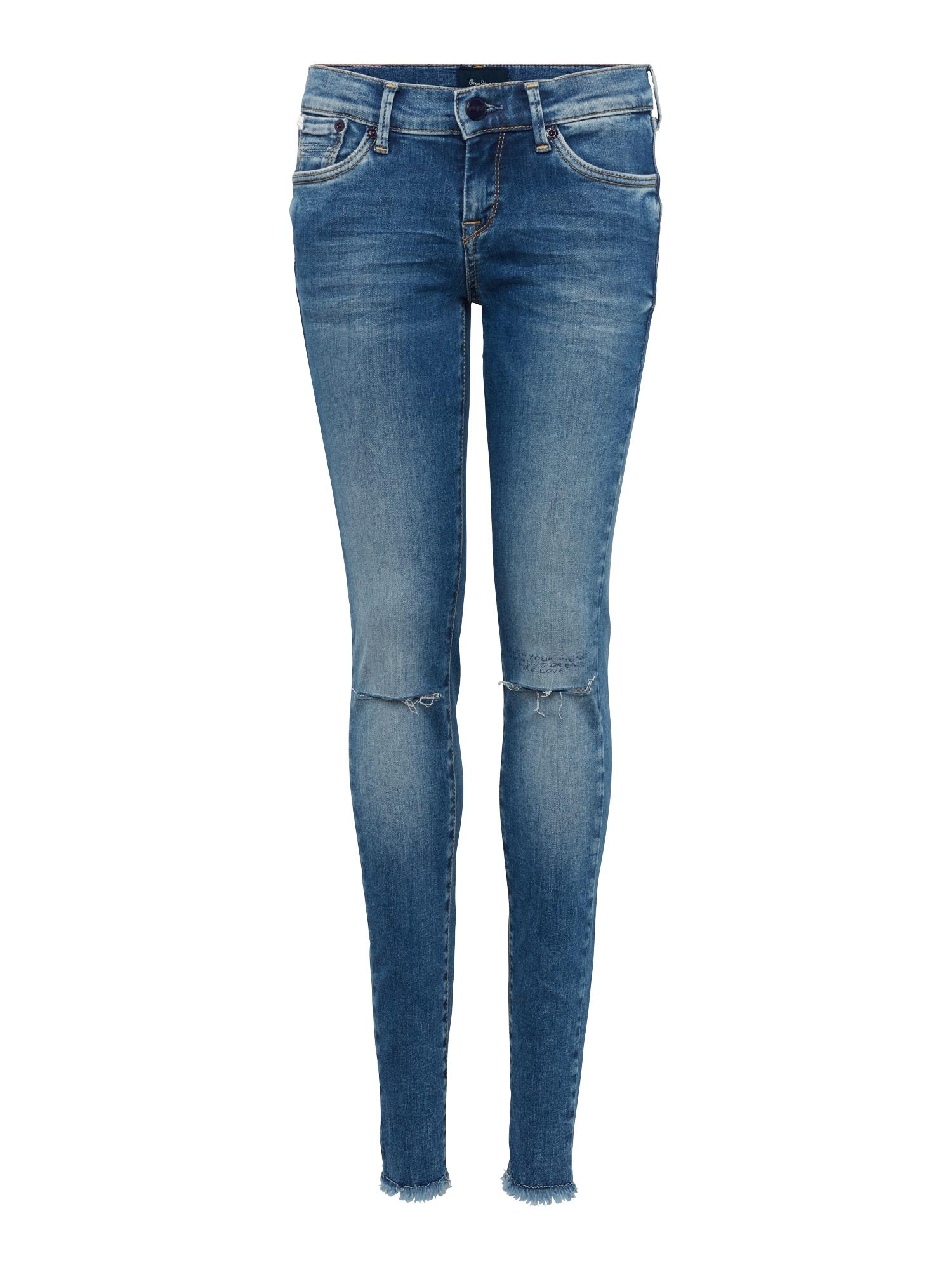 Pepe Jeans Meisjes Jeans SCARLETTE NOTES blauw