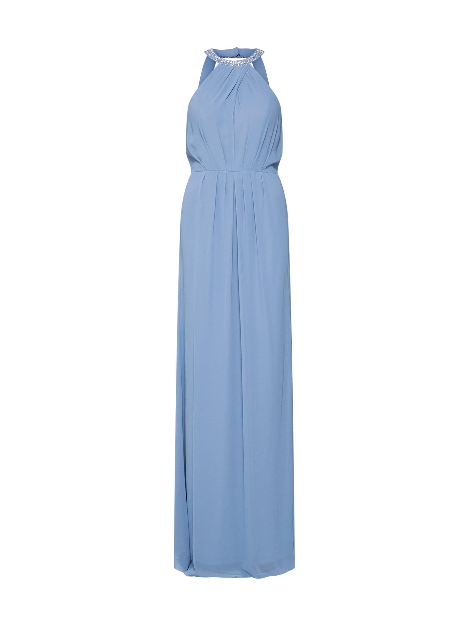 Společenské šaty long dress chiffon světlemodrá STAR NIGHT