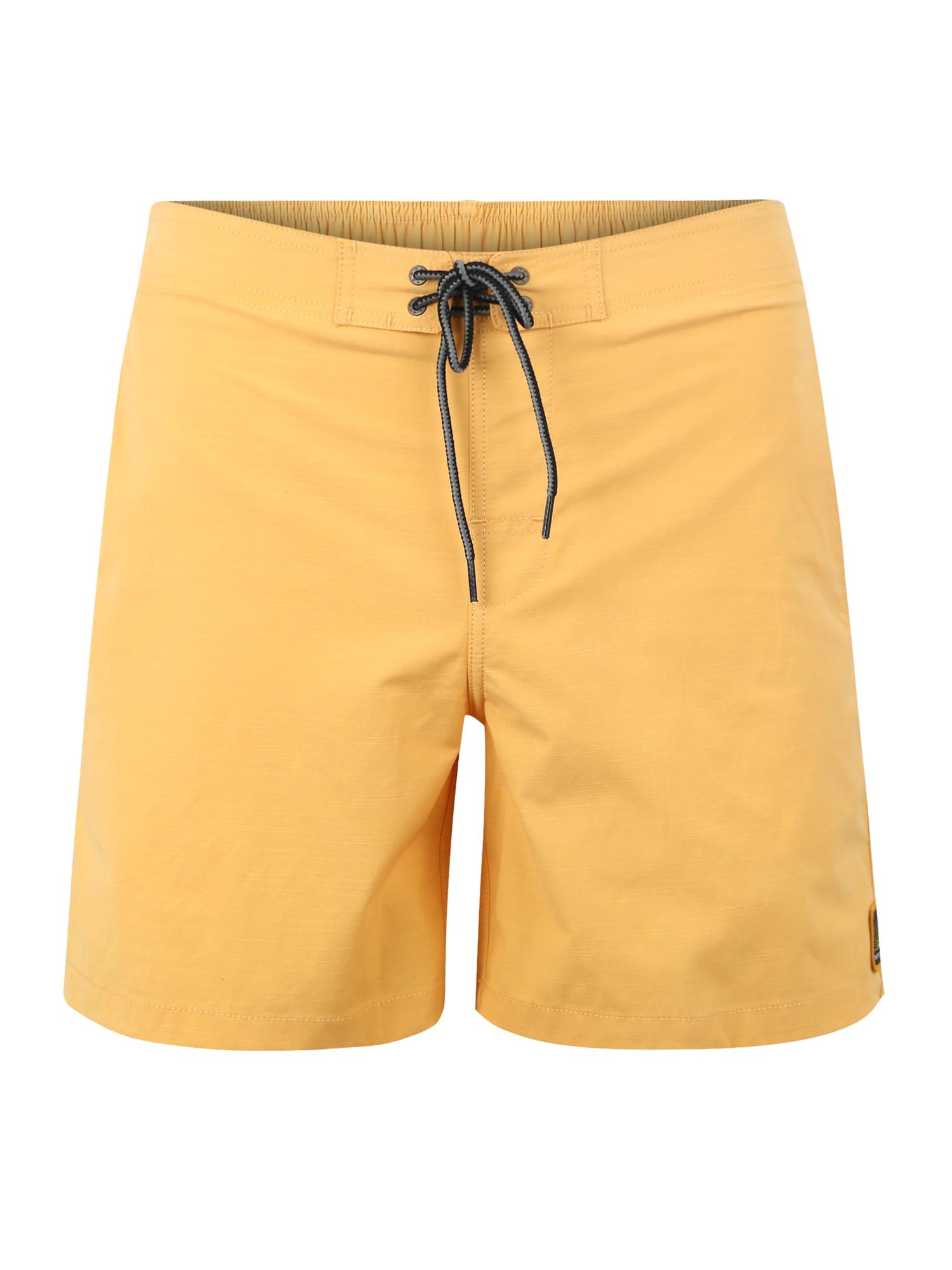 Plavecké šortky SEMI- ELASTICATED ERA 16 zlatě žlutá RIP CURL