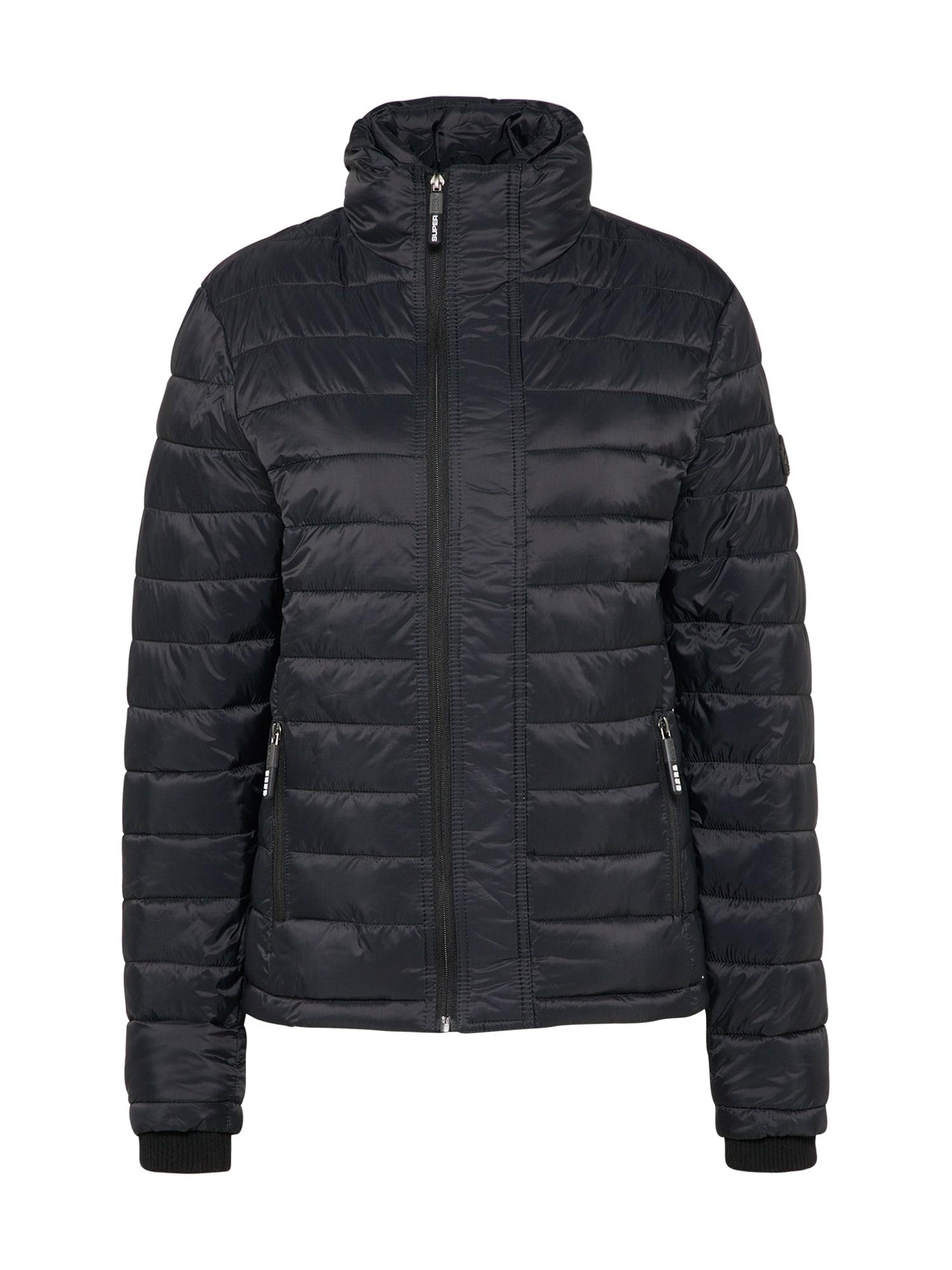 Zimní bunda FUJI černá Superdry
