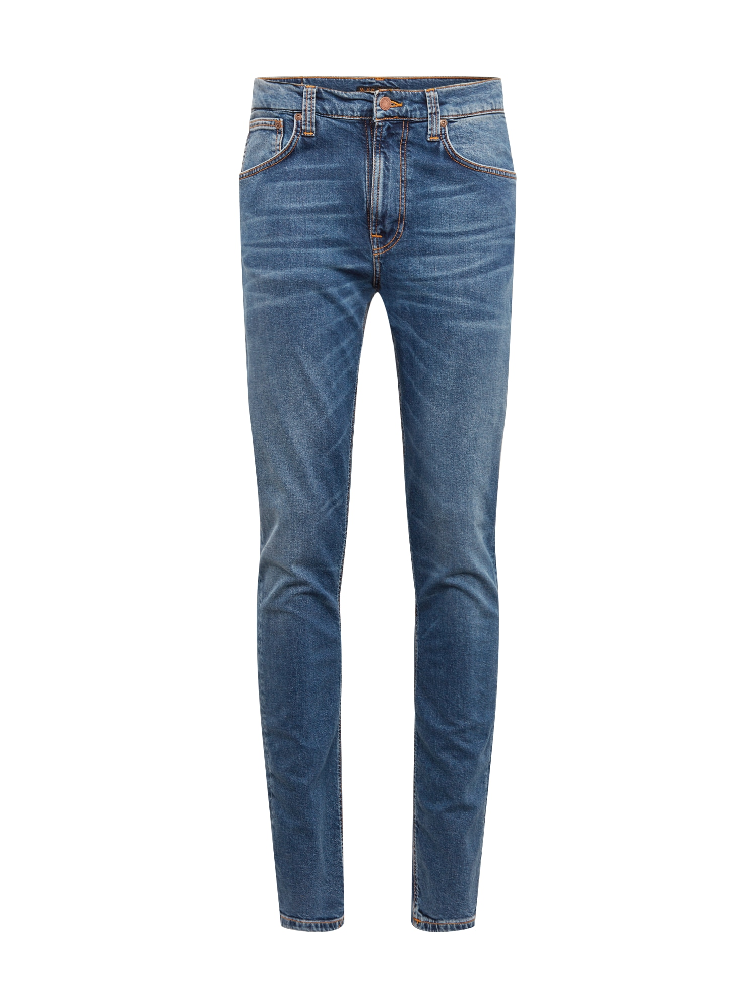 Džíny Lean Dean modrá Nudie Jeans Co