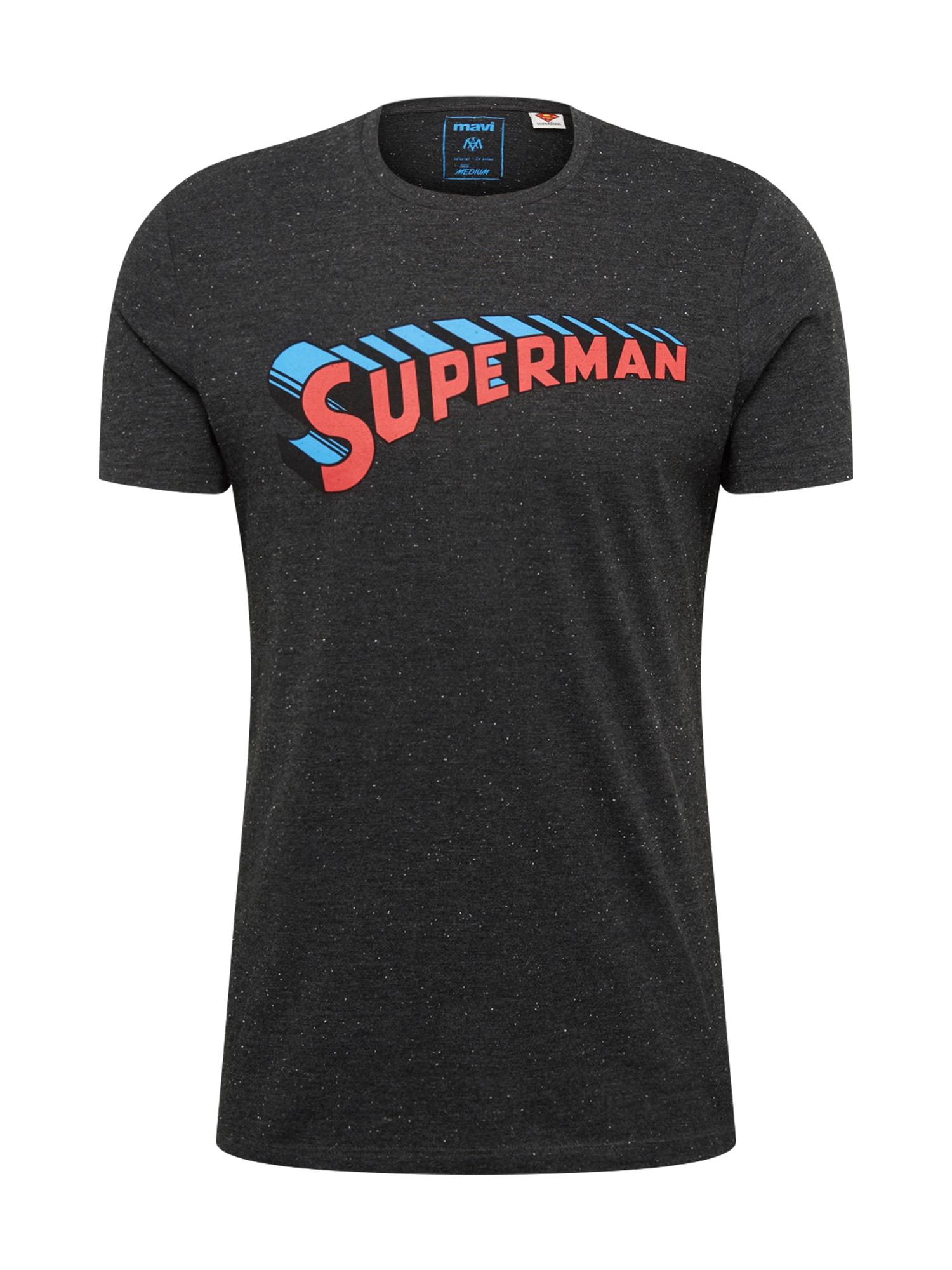 Tričko Superman černá Mavi