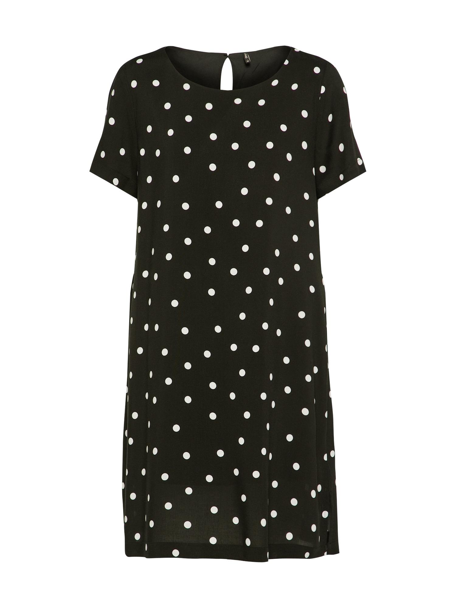 Letní šaty FIRST černá bílá ONLY