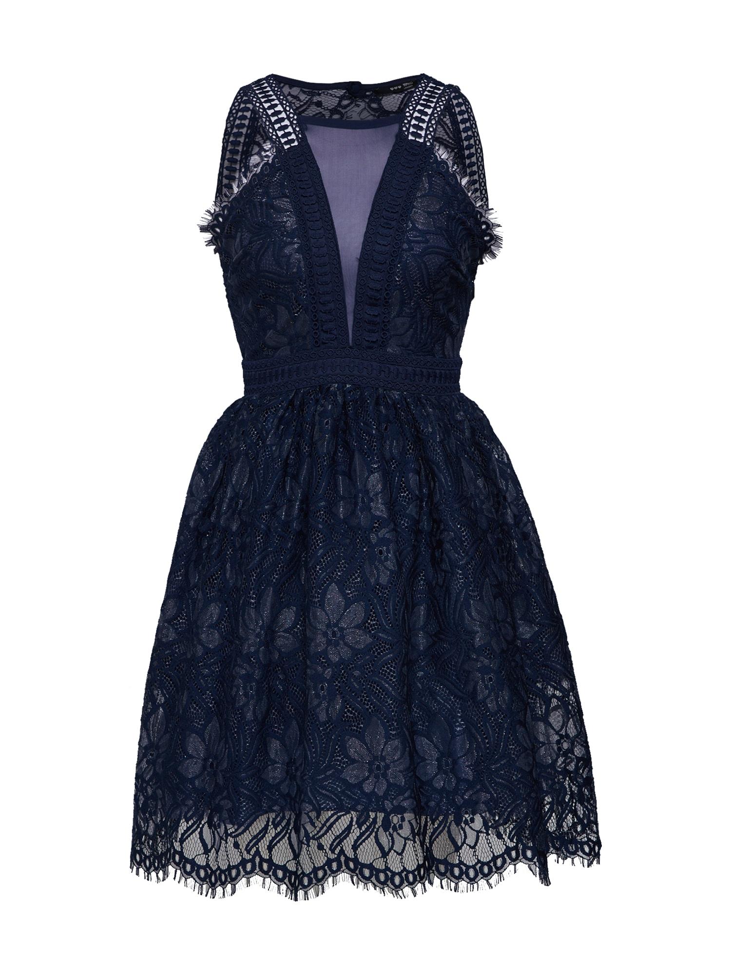 Koktejlové šaty BETHANY námořnická modř TFNC