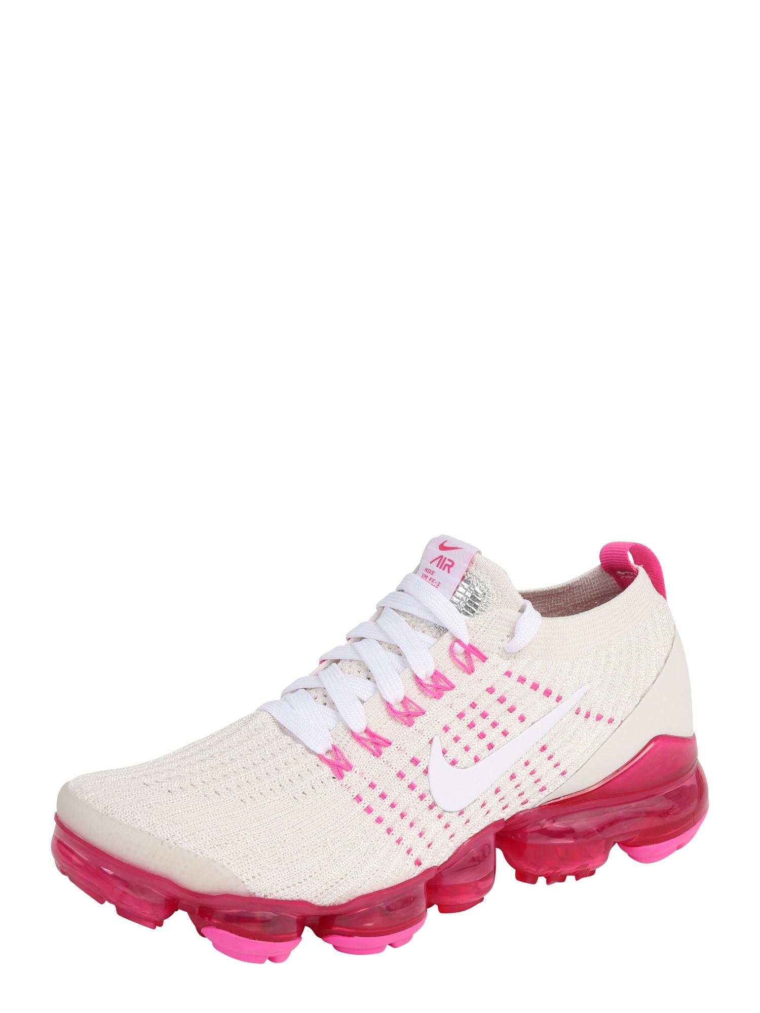 Sportovní boty béžová pink bílá NIKE