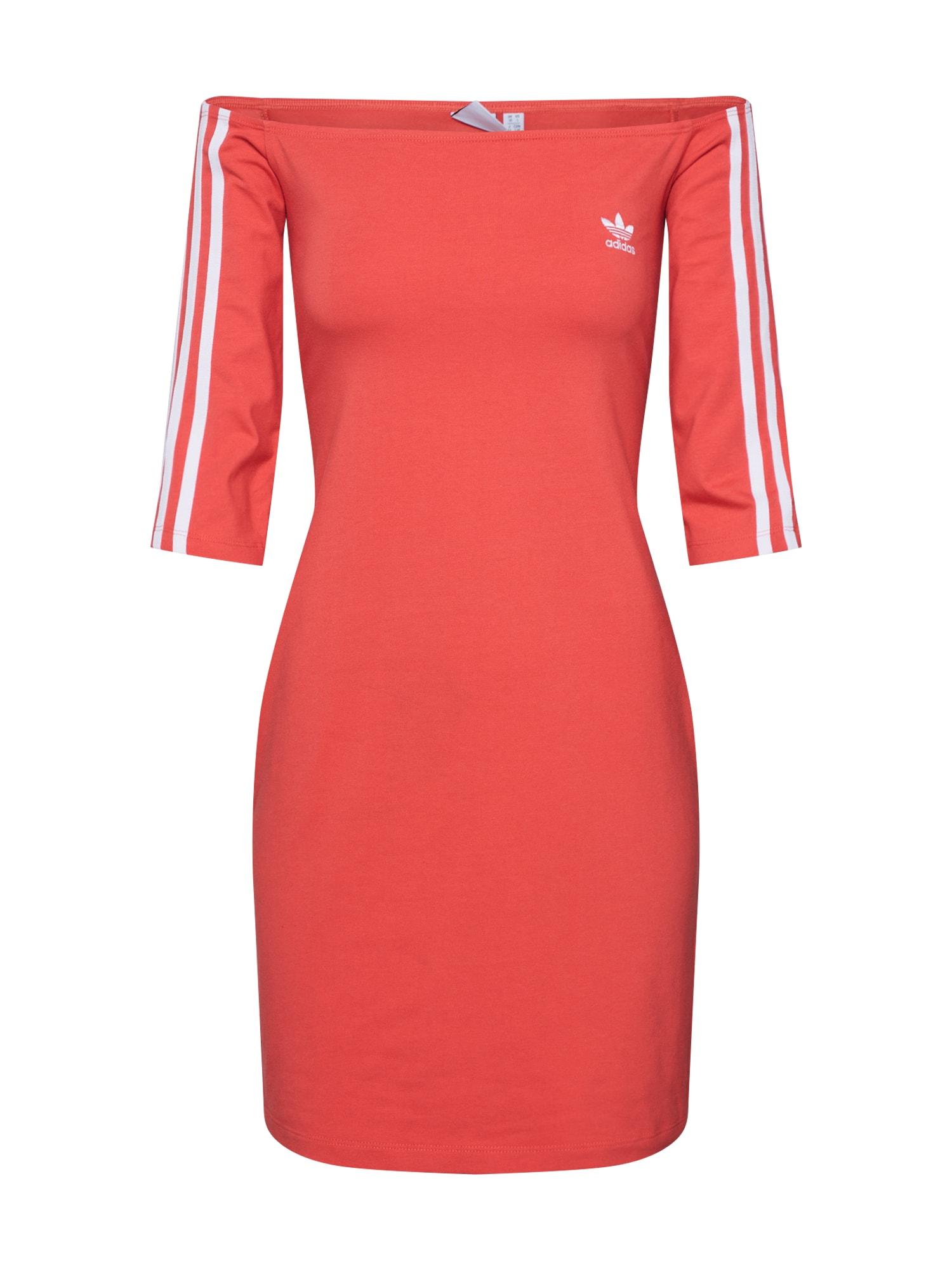 ADIDAS ORIGINALS Šaty  červená