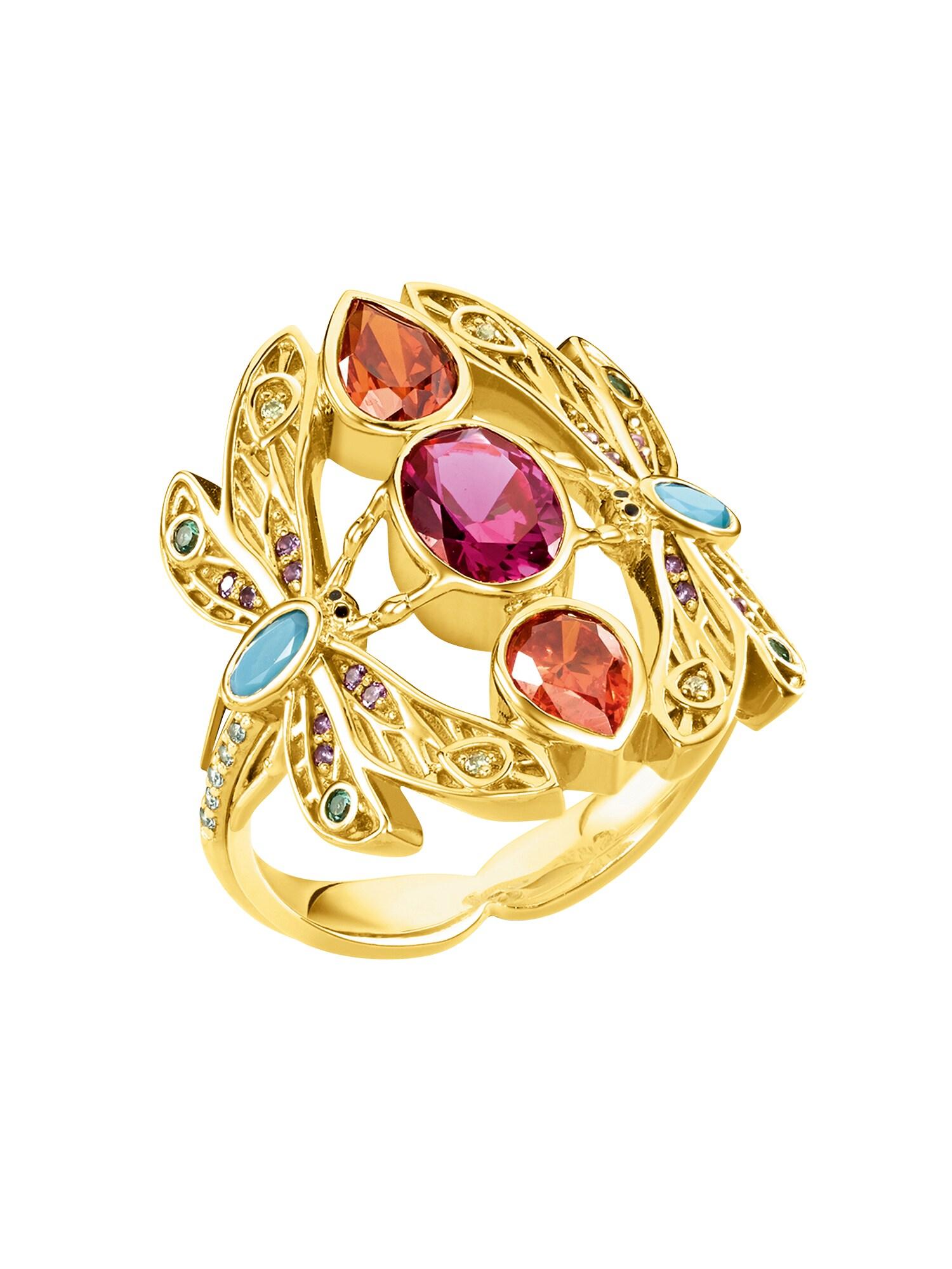 Prsten Libelle zlatá Thomas Sabo