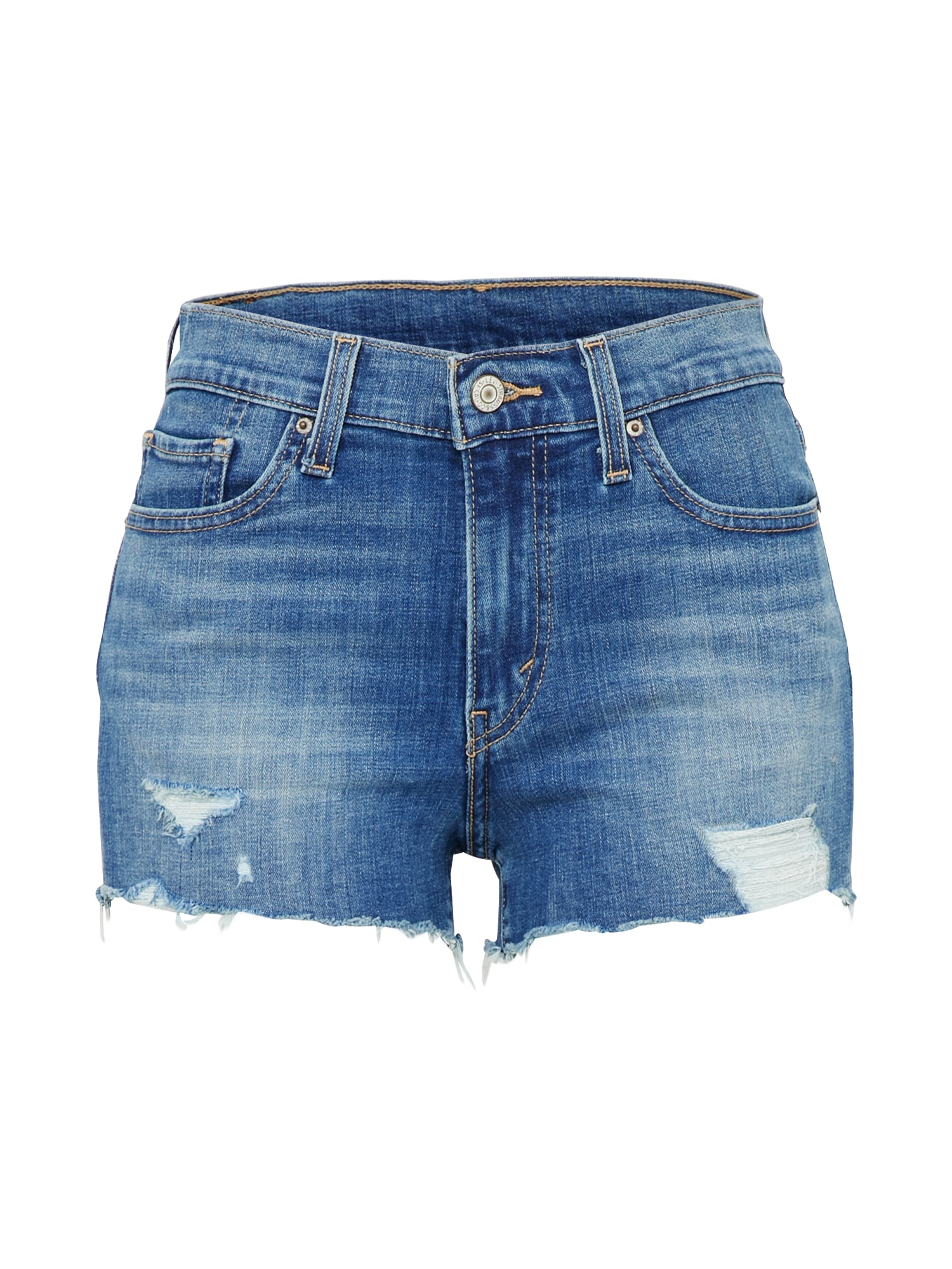 LEVI'S Dames Jeans donkerblauw