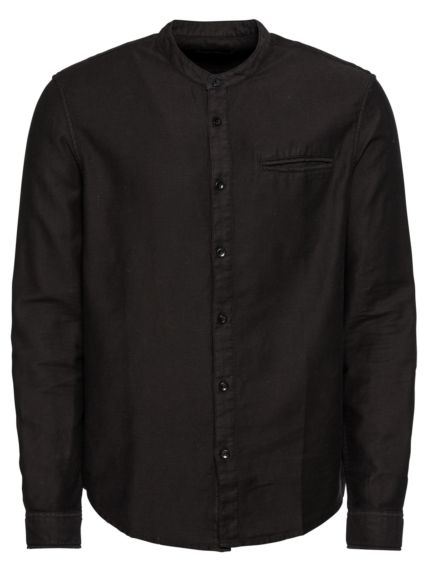 Košile KM-0818-0204 černá KIOMI
