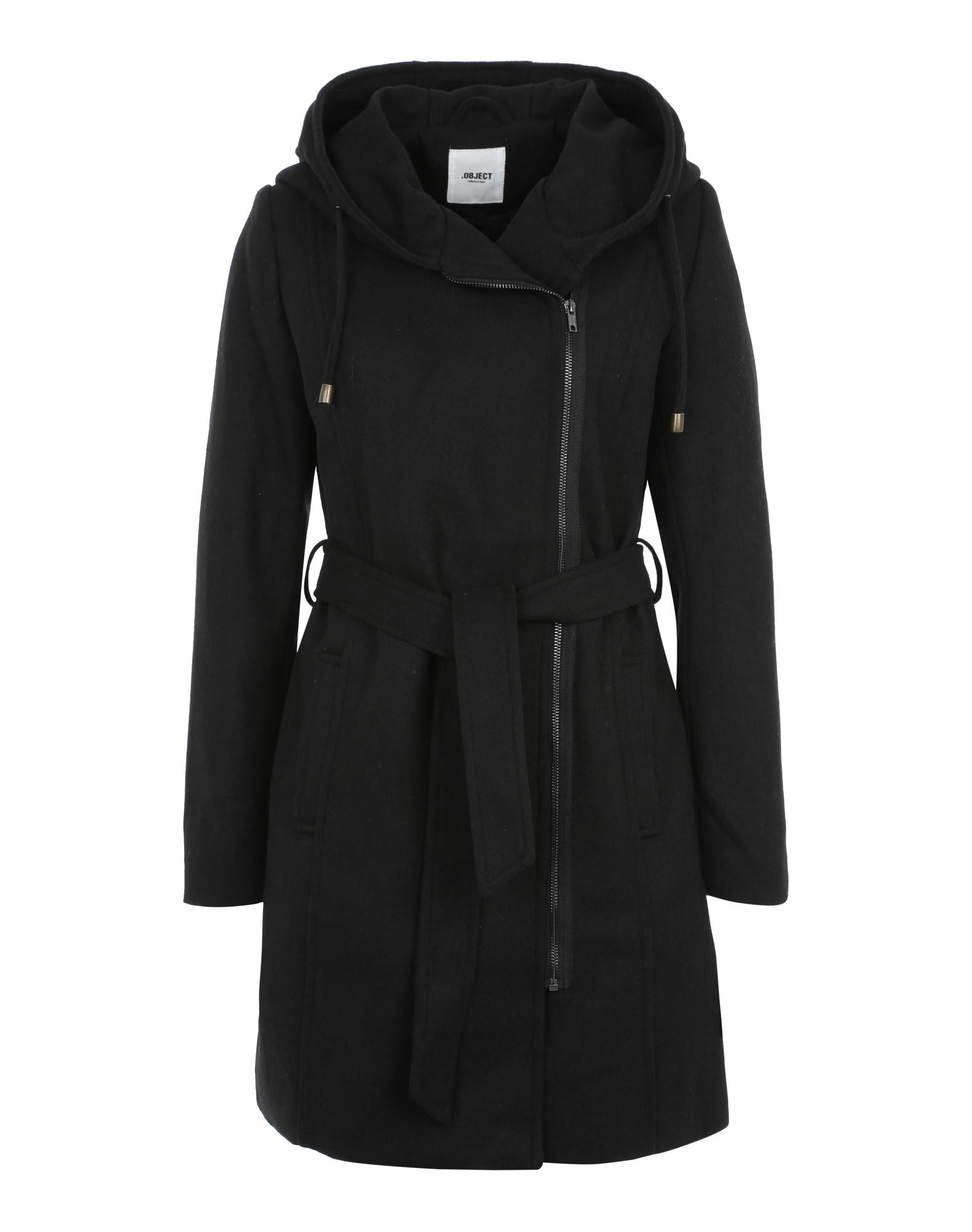 Zimní kabát OBJJolie 86 černá OBJECT