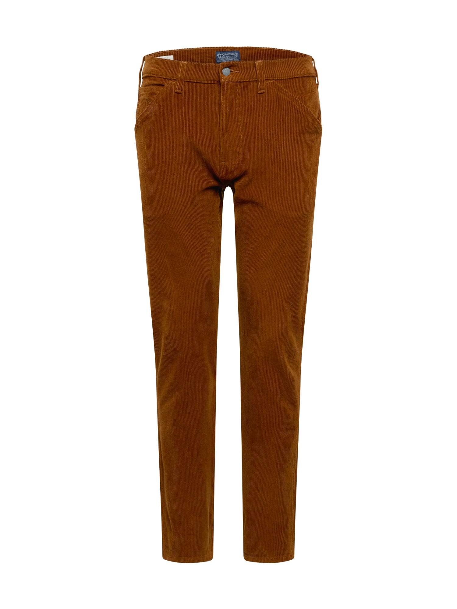 LEVI'S Nohavice '502™ CARPENTER PANT' farba ťavej srsti