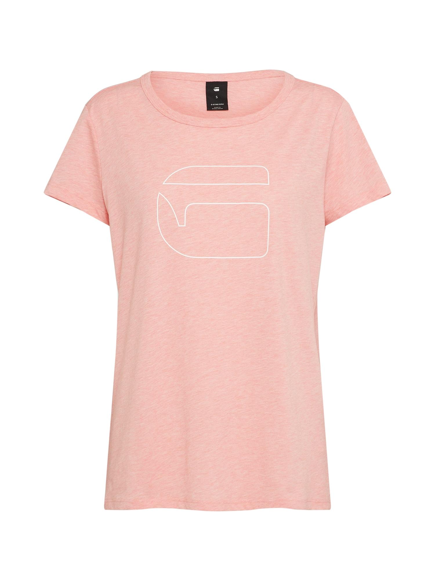 G-STAR RAW Dames Shirt roze gemêleerd