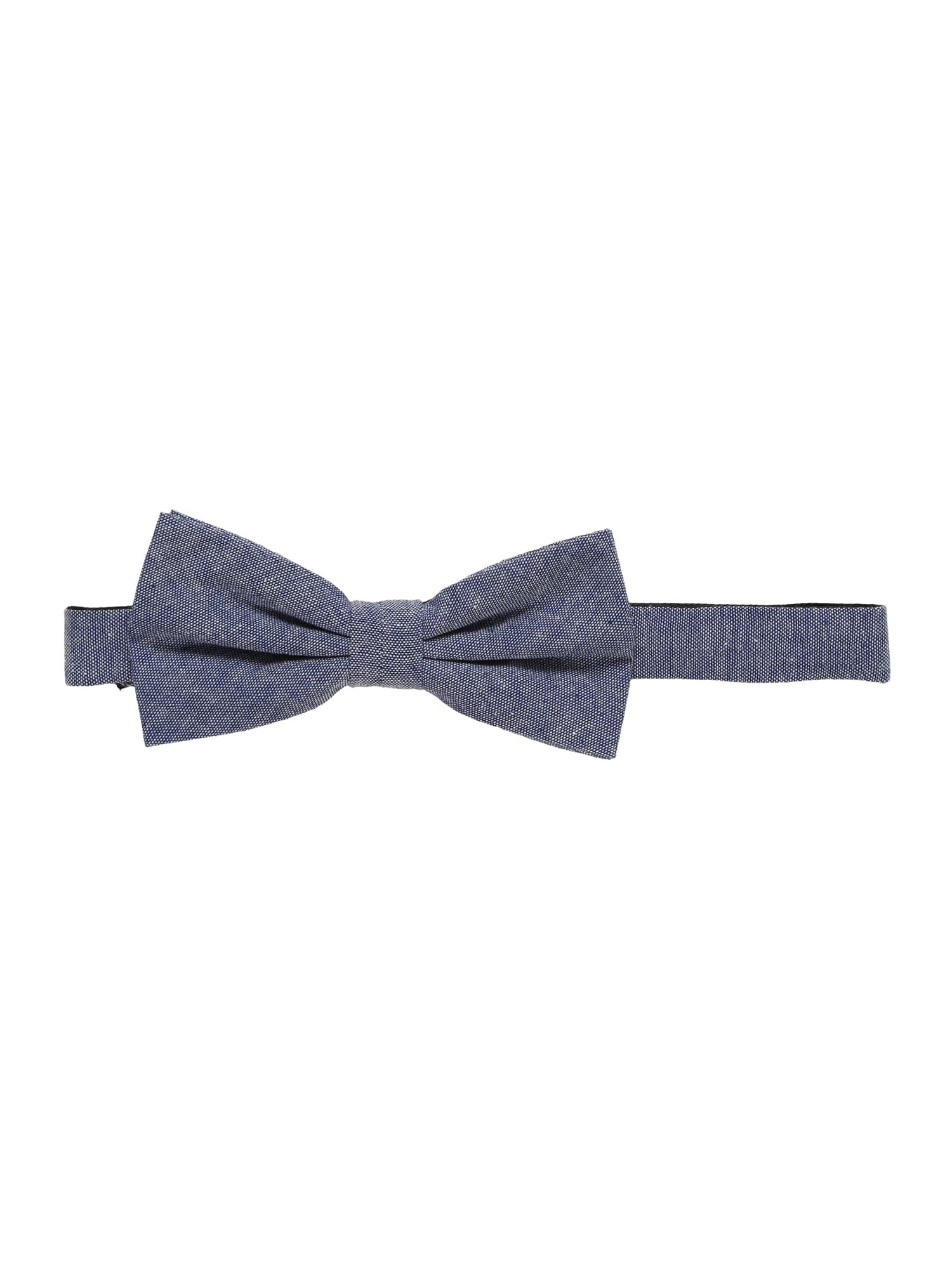 Motýlek chambray bowtie modrá Esprit Collection