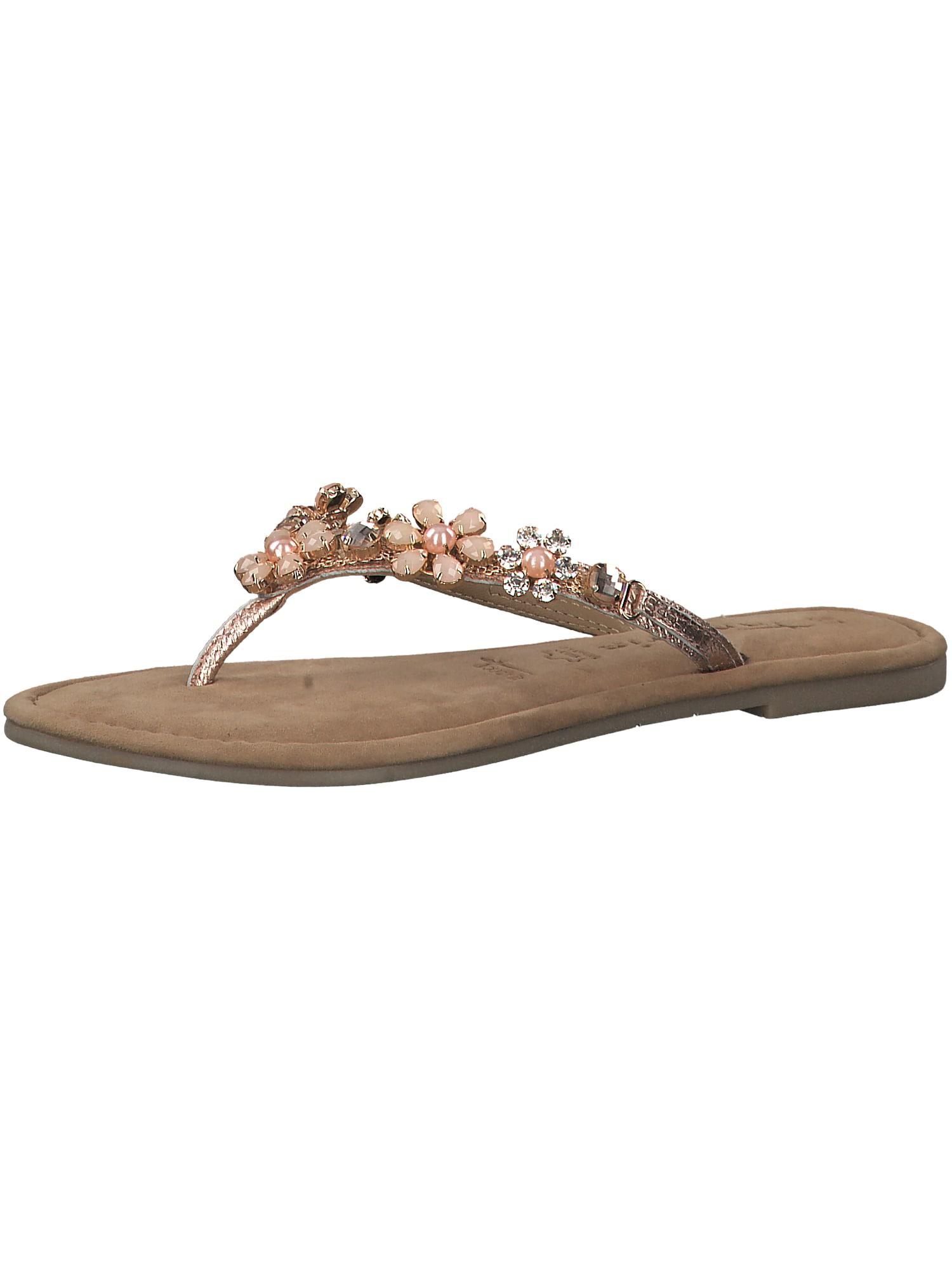 Žabky zlatá růžová TAMARIS