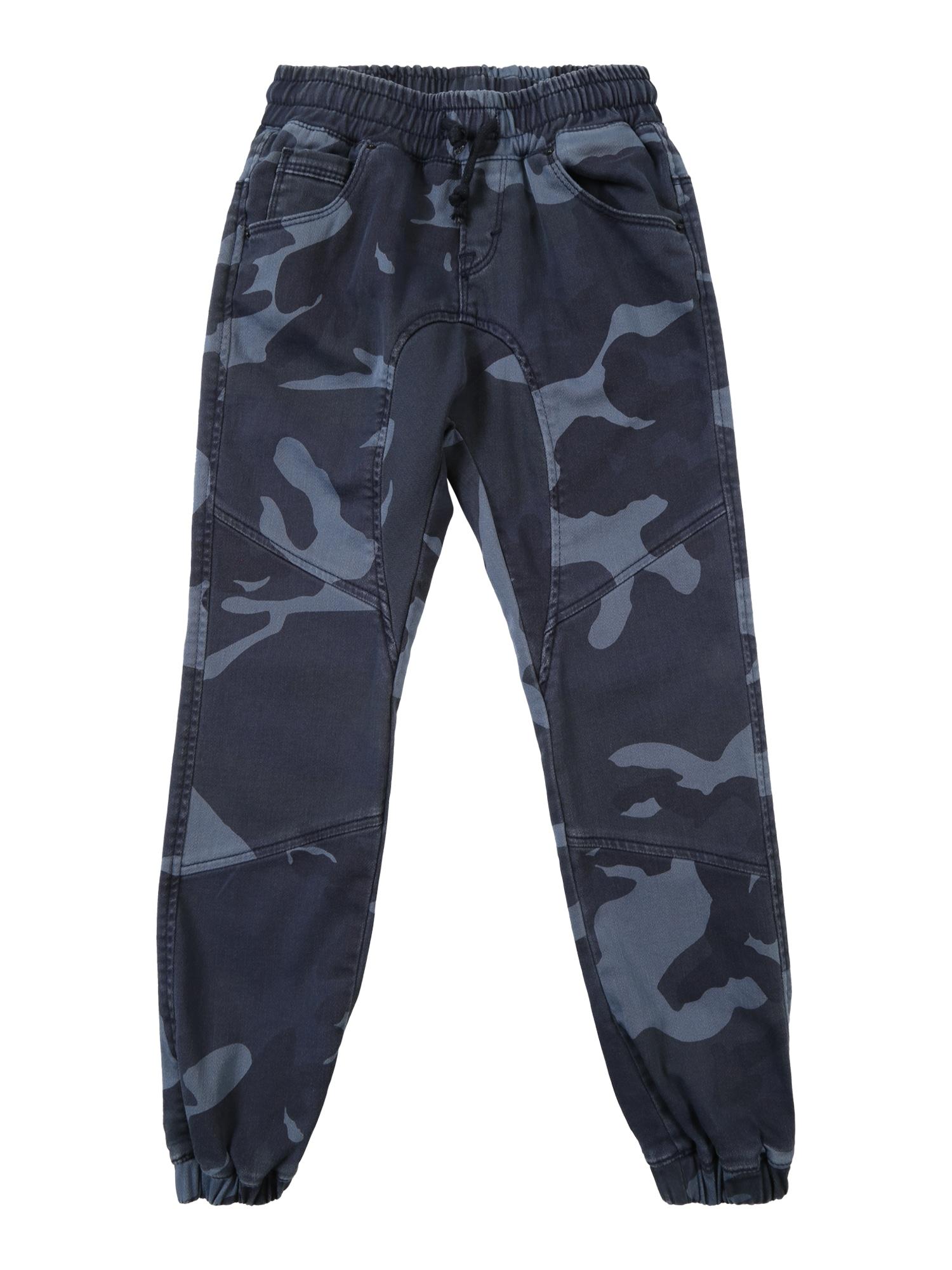 LTB Kalhoty 'ROSEWO X B'  modrá / šedá