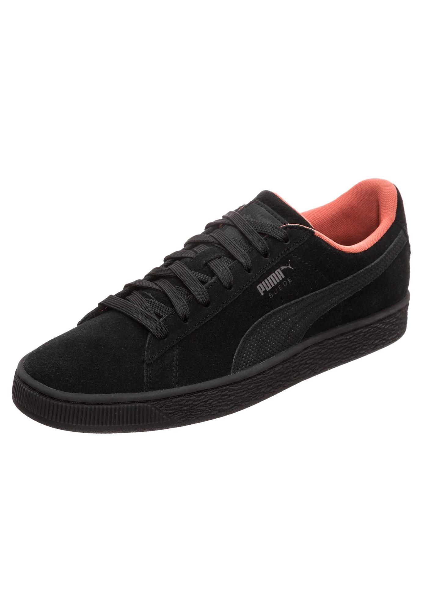 PUMA, Heren Sneakers laag 'Suede Classic Tonal Nu Skool', zwart