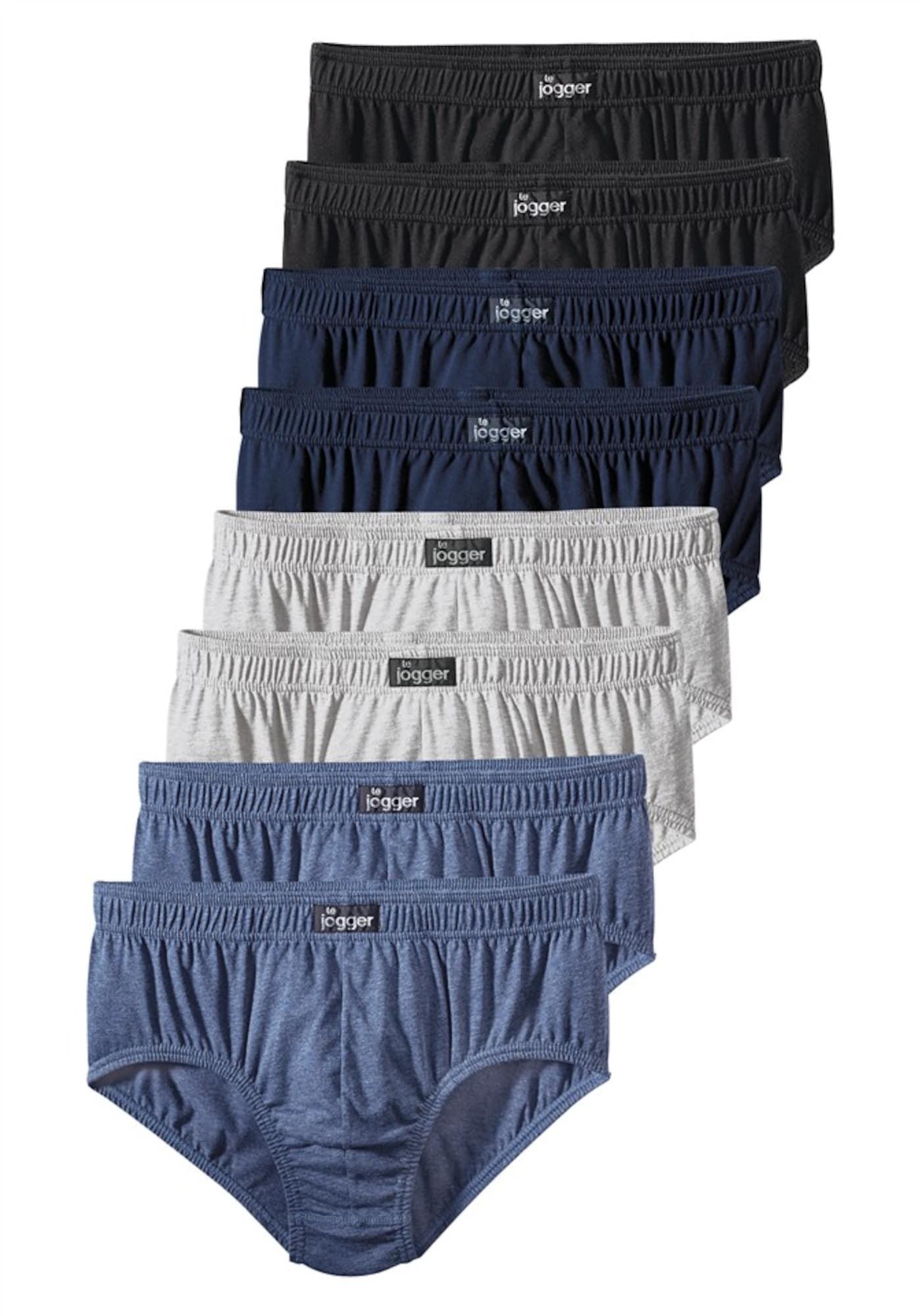 Slip (8 Stck.)   Bekleidung > Wäsche   Kobaltblau - Schwarz   LE JOGGER