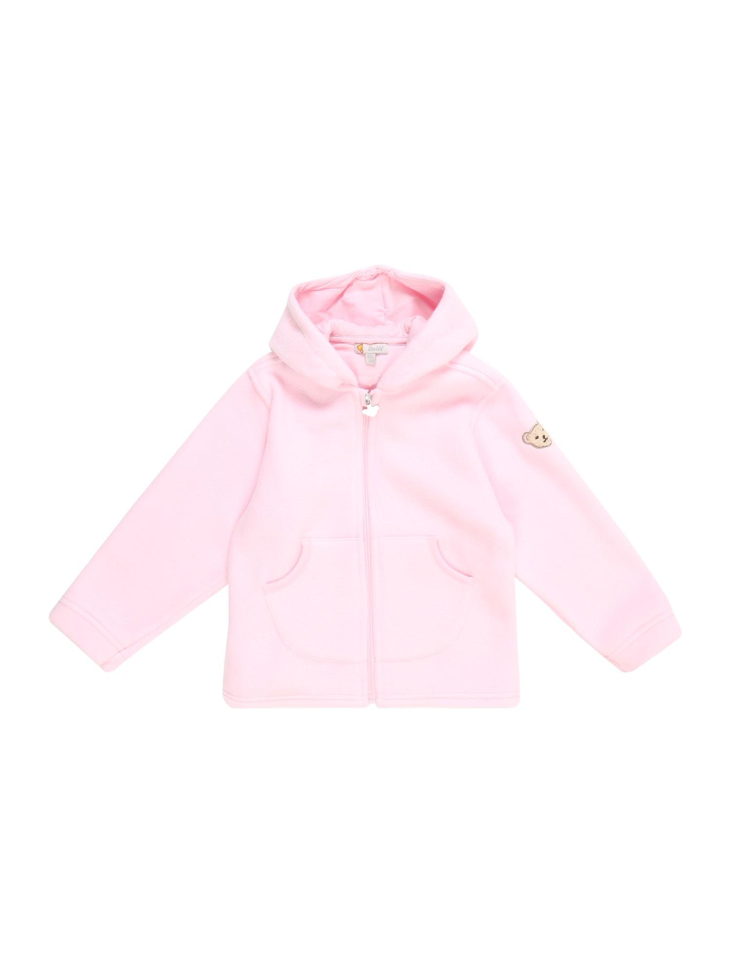 Přechodná bunda růžová Steiff Collection