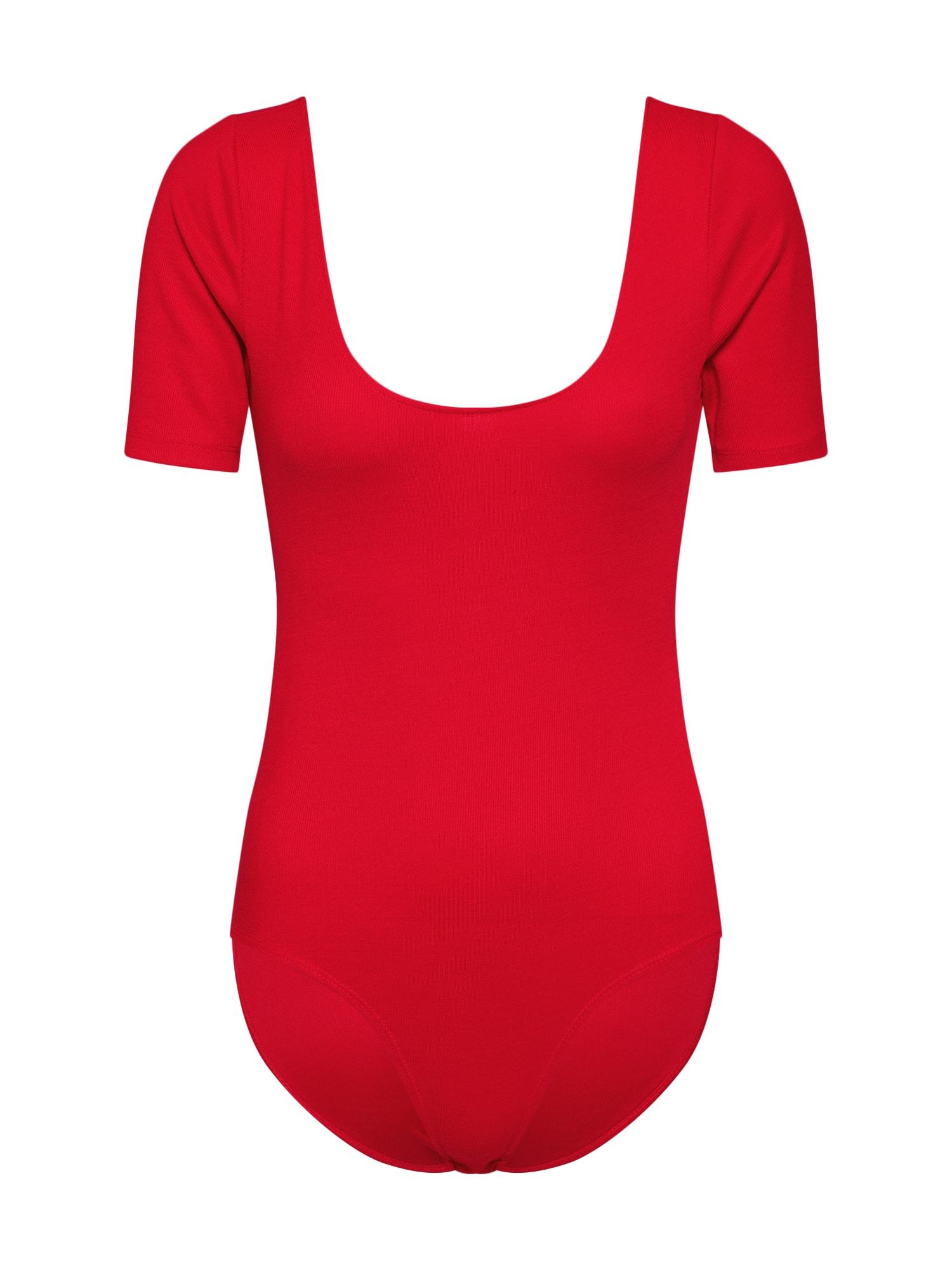Tričko ZESTY červená Fashion Union