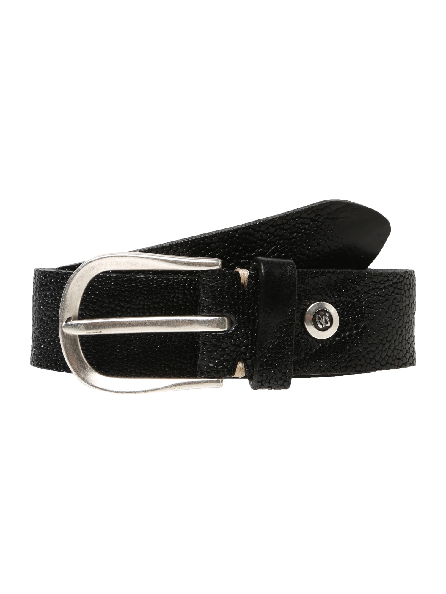 Opasek černá B.belt Handmade In Germany