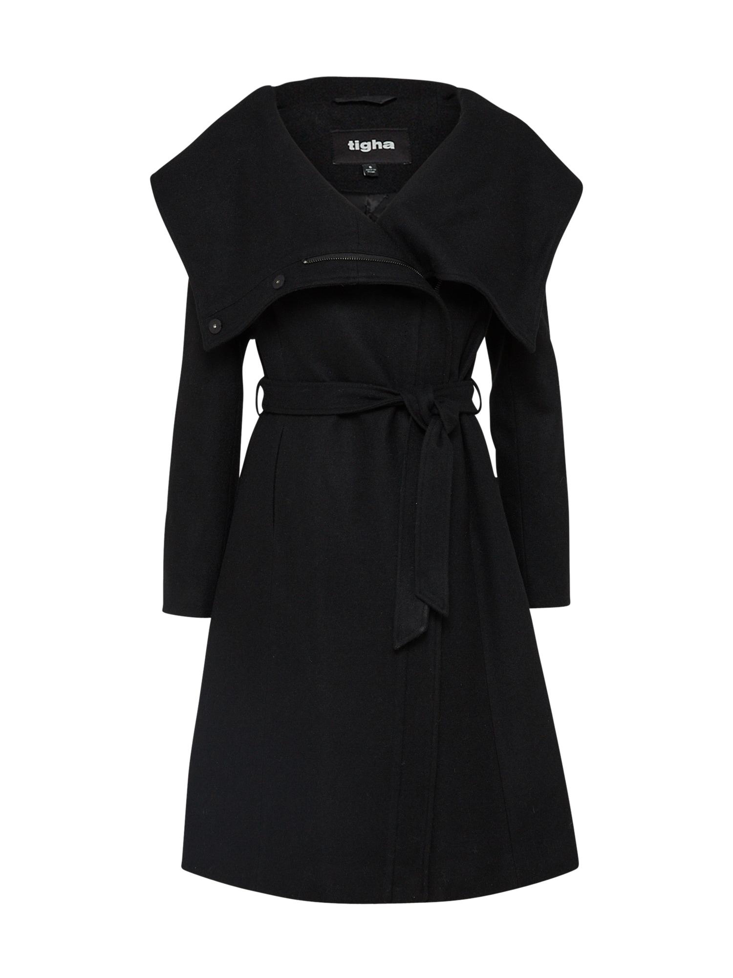 Zimní kabát Aileen černá Tigha