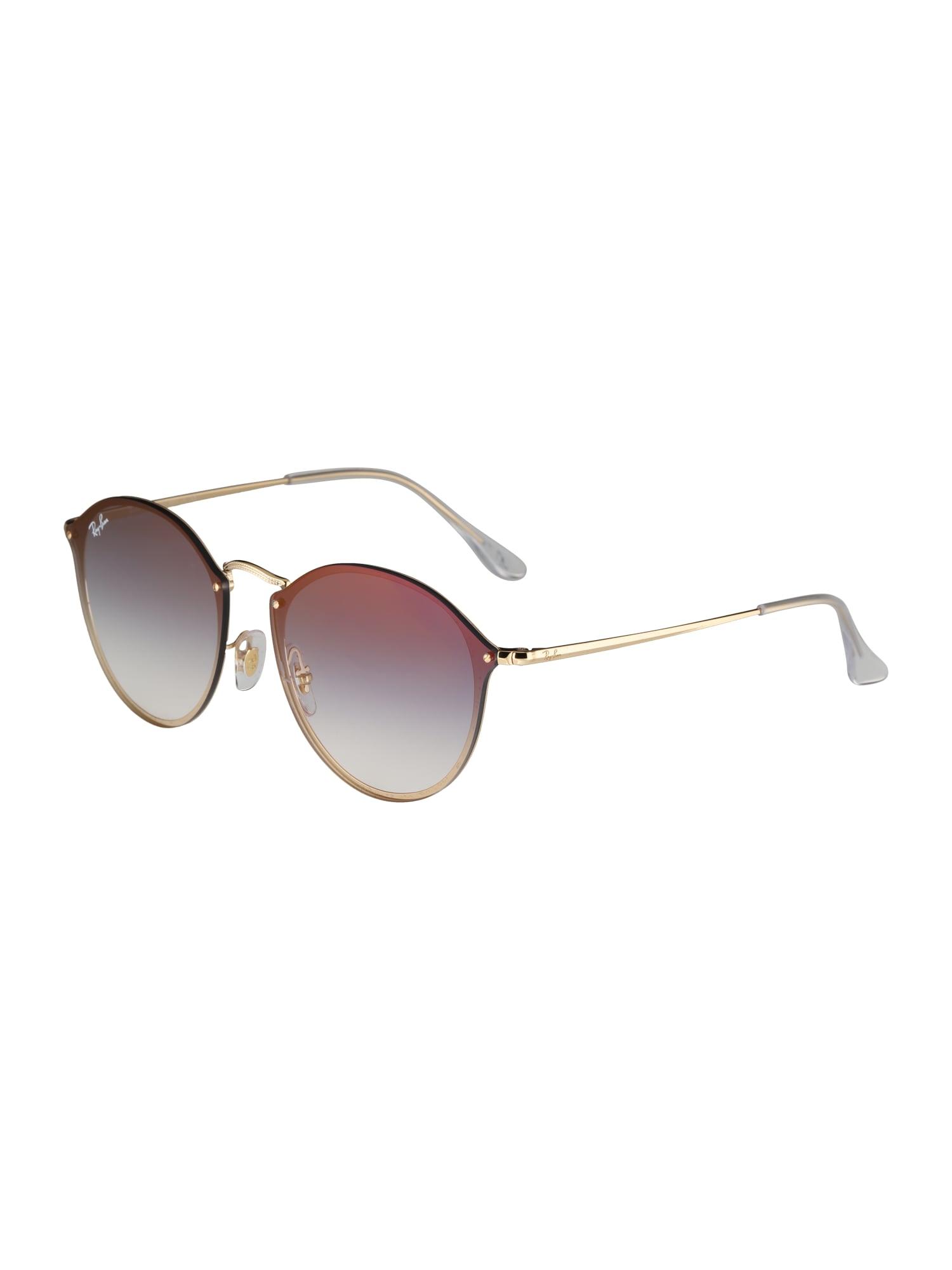 Sluneční brýle modrá zlatá Ray-Ban