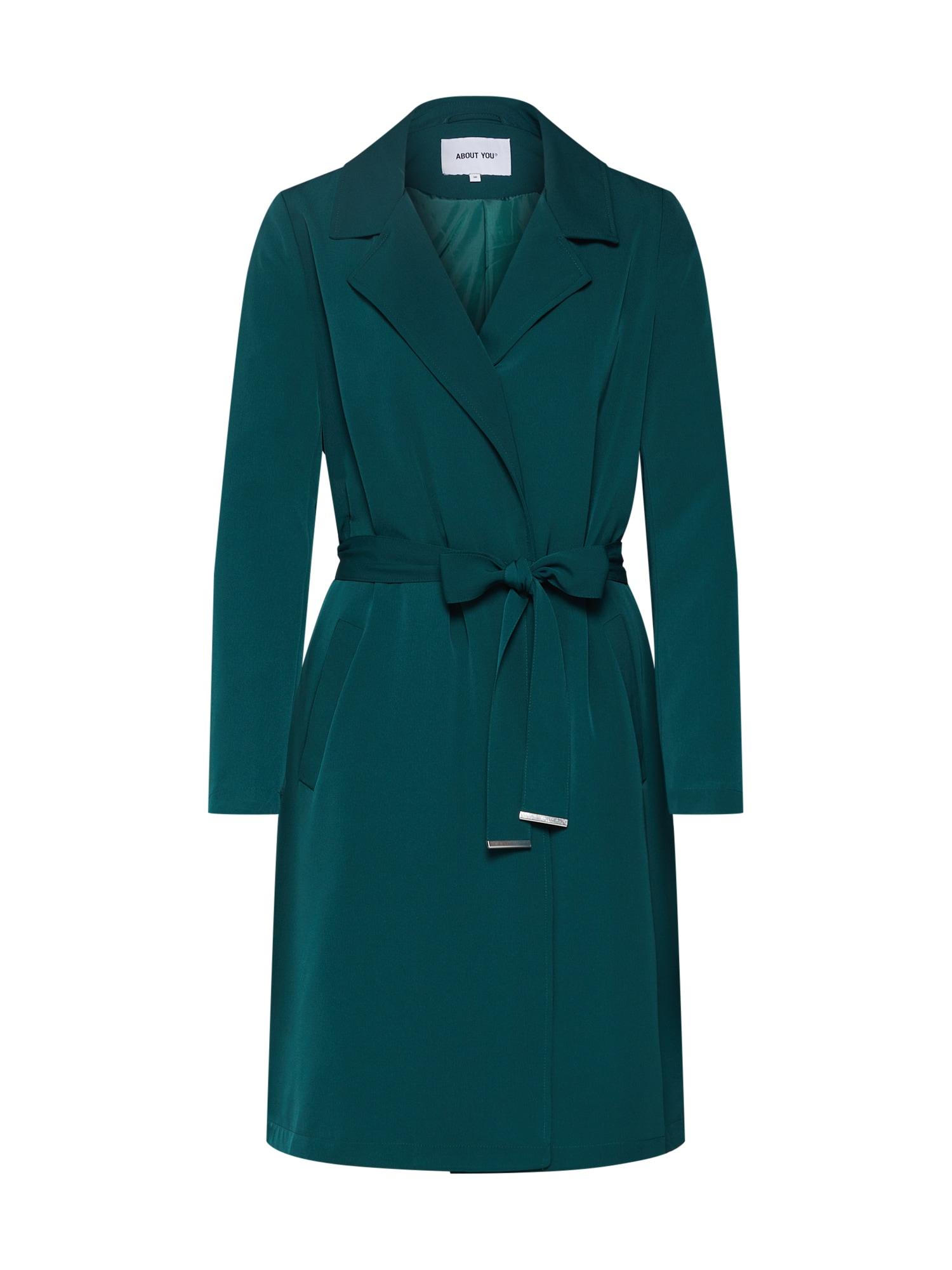 Přechodný kabát Cara zelená ABOUT YOU
