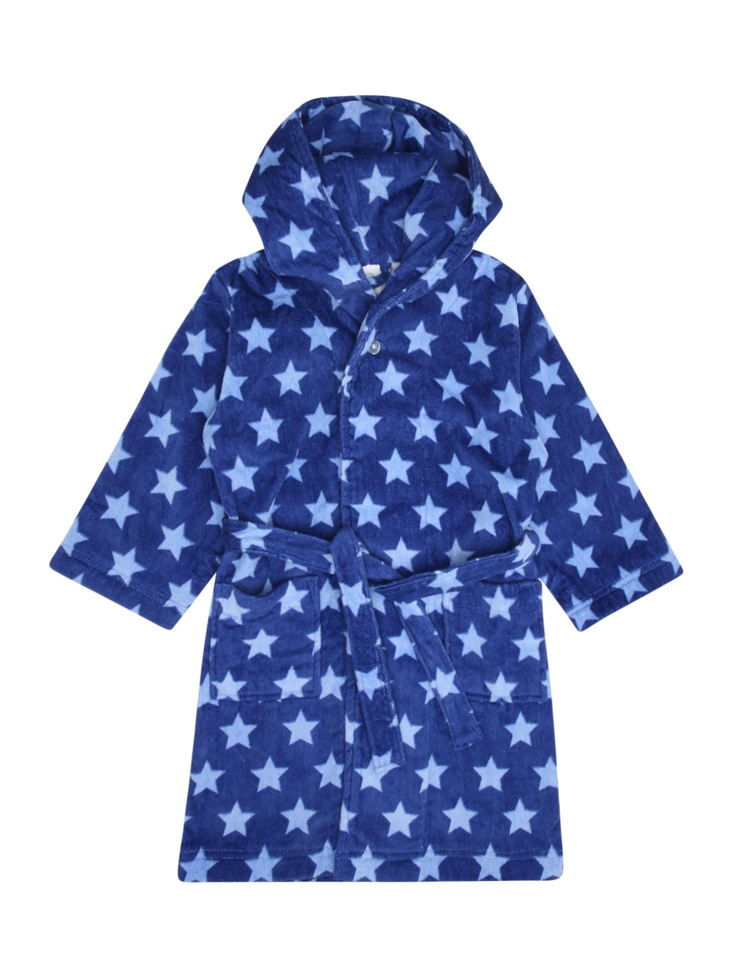 Koupací plášť modrá světlemodrá SANETTA