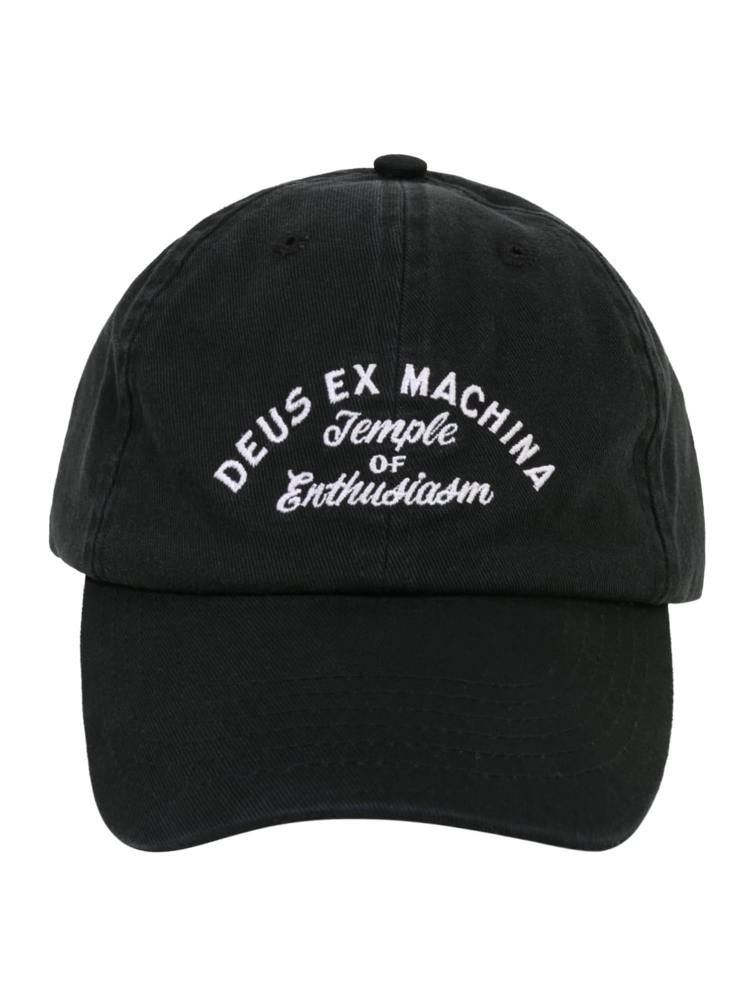 Kšiltovka Classic Dad Temple černá bílá DEUS EX MACHINA