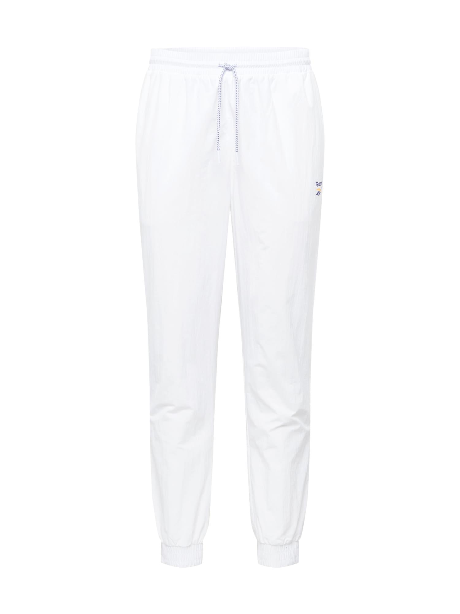 Kalhoty Cl Unisex V Trac námořnická modř bílá Reebok Classic