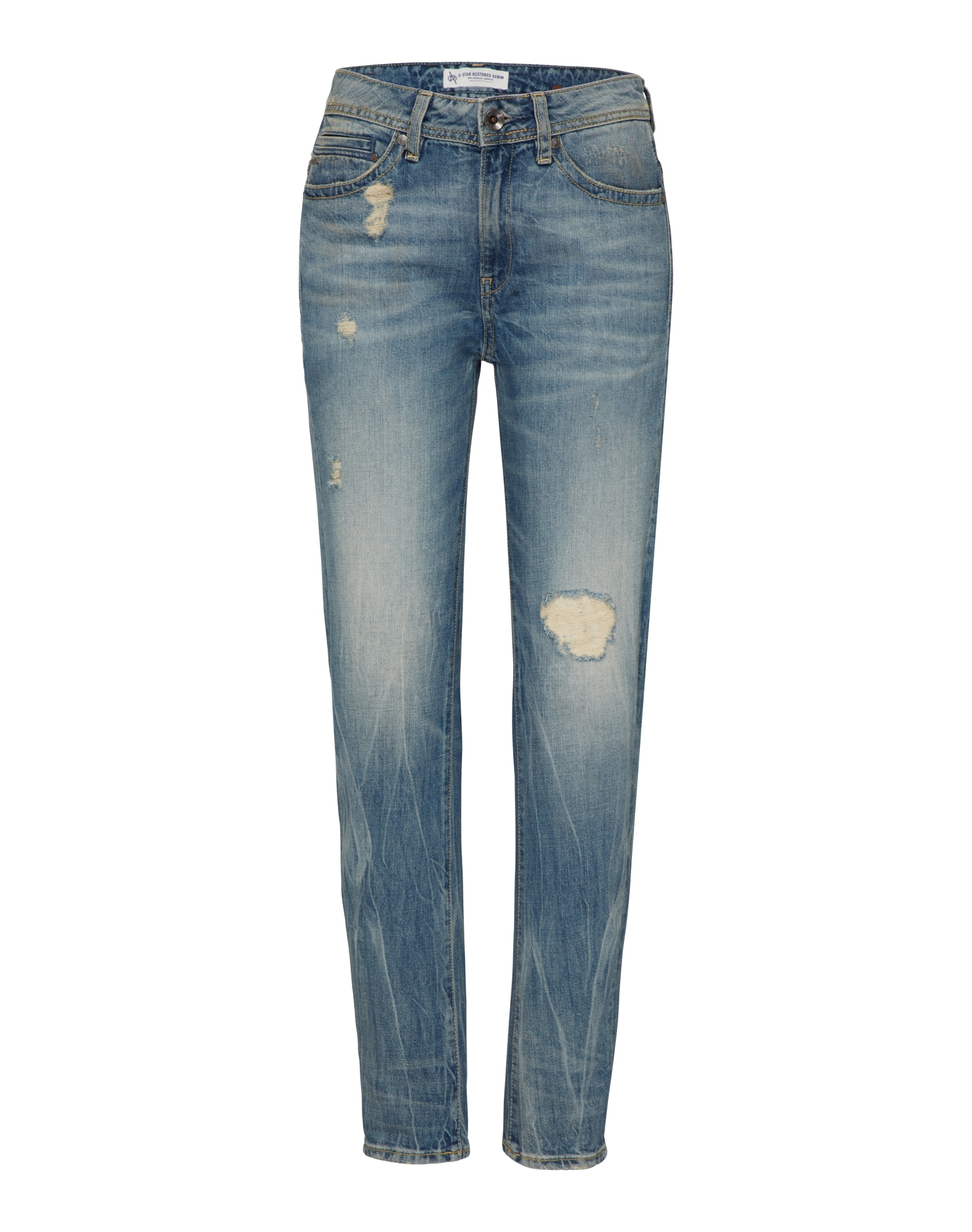 G-STAR RAW Dames Jeans Midge Saddle blue denim