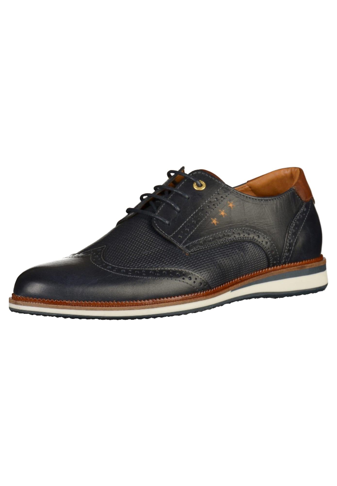 Halbschuhe   Schuhe > Boots   Dunkelblau - Braun - Gold - Weiß   PANTOFOLA D'ORO