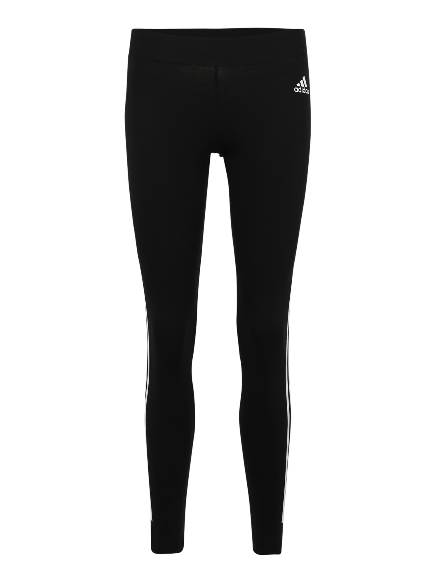 Sportovní kalhoty W MH 3S TIGHT černá ADIDAS PERFORMANCE