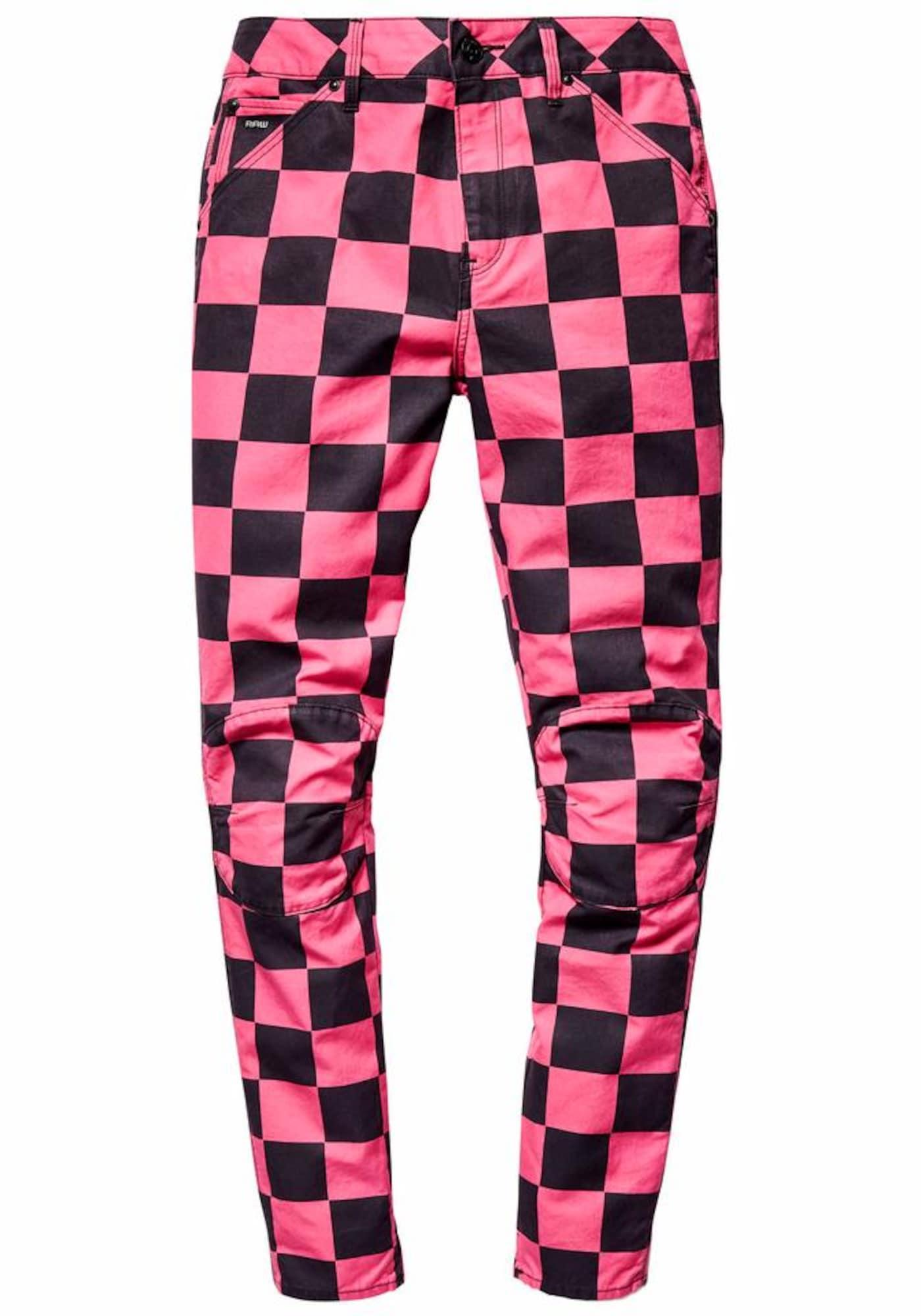 G-STAR RAW Dames Jeans pink zwart