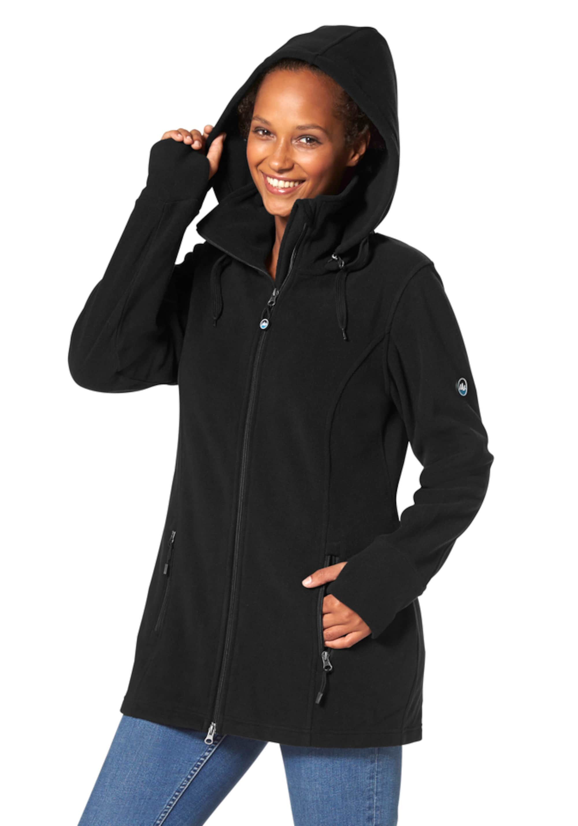 Functionele fleece jas