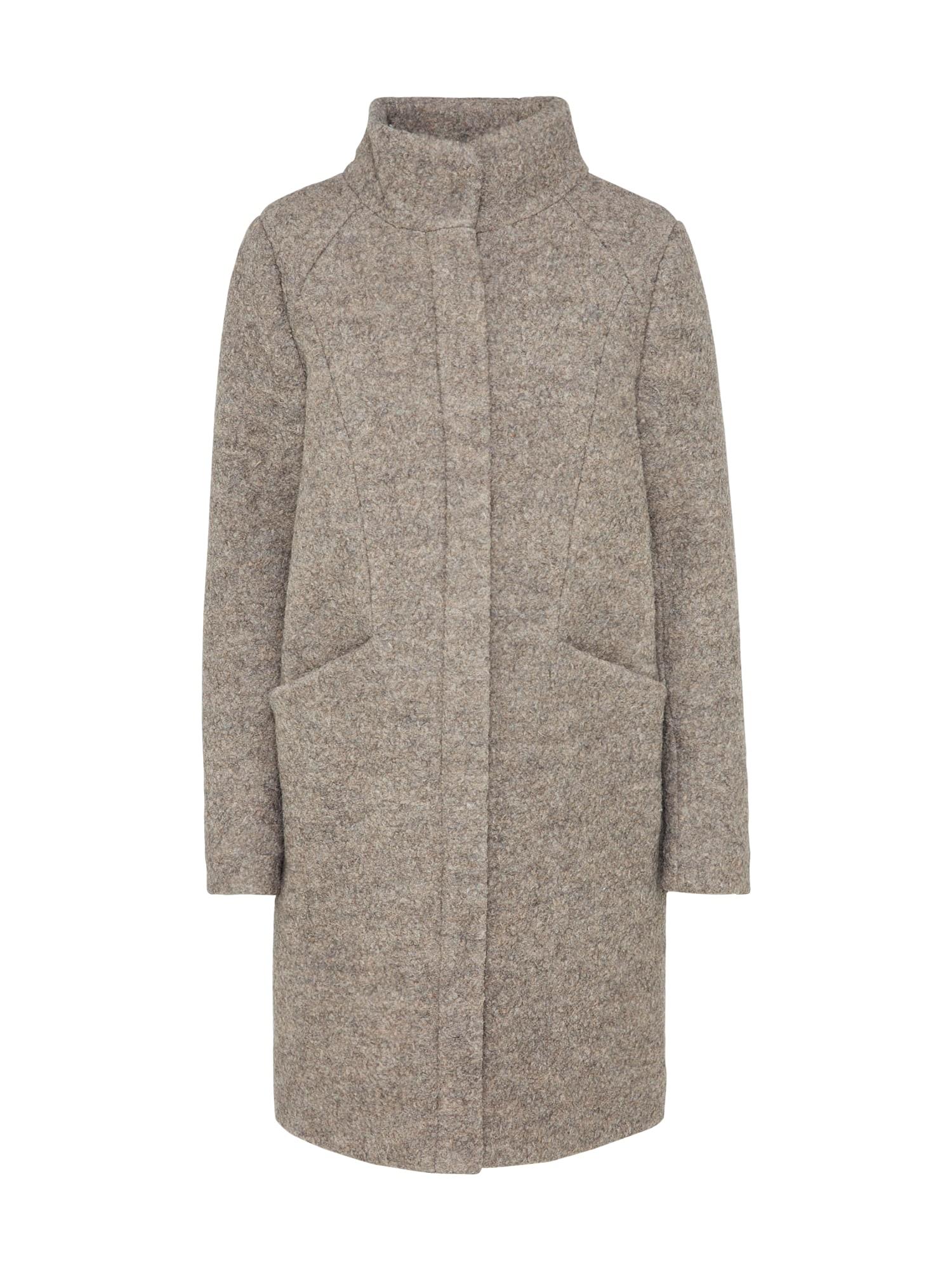 Zimní kabát Unip Ja šedý melír ICHI