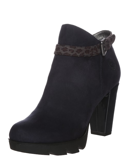 High-Heel Ankle Boot