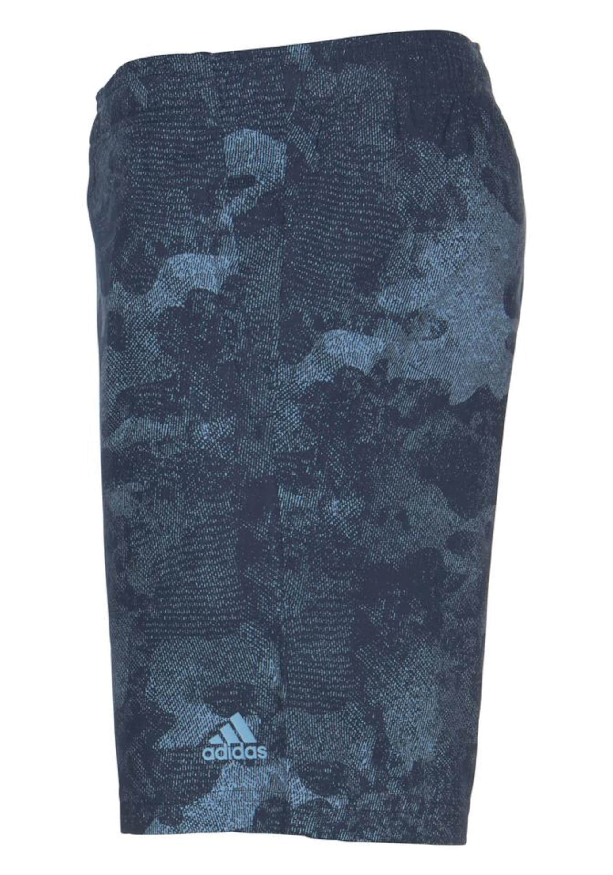 Sportbroek 'ESSENTIAL CO WOVEN CAMO SHORT'