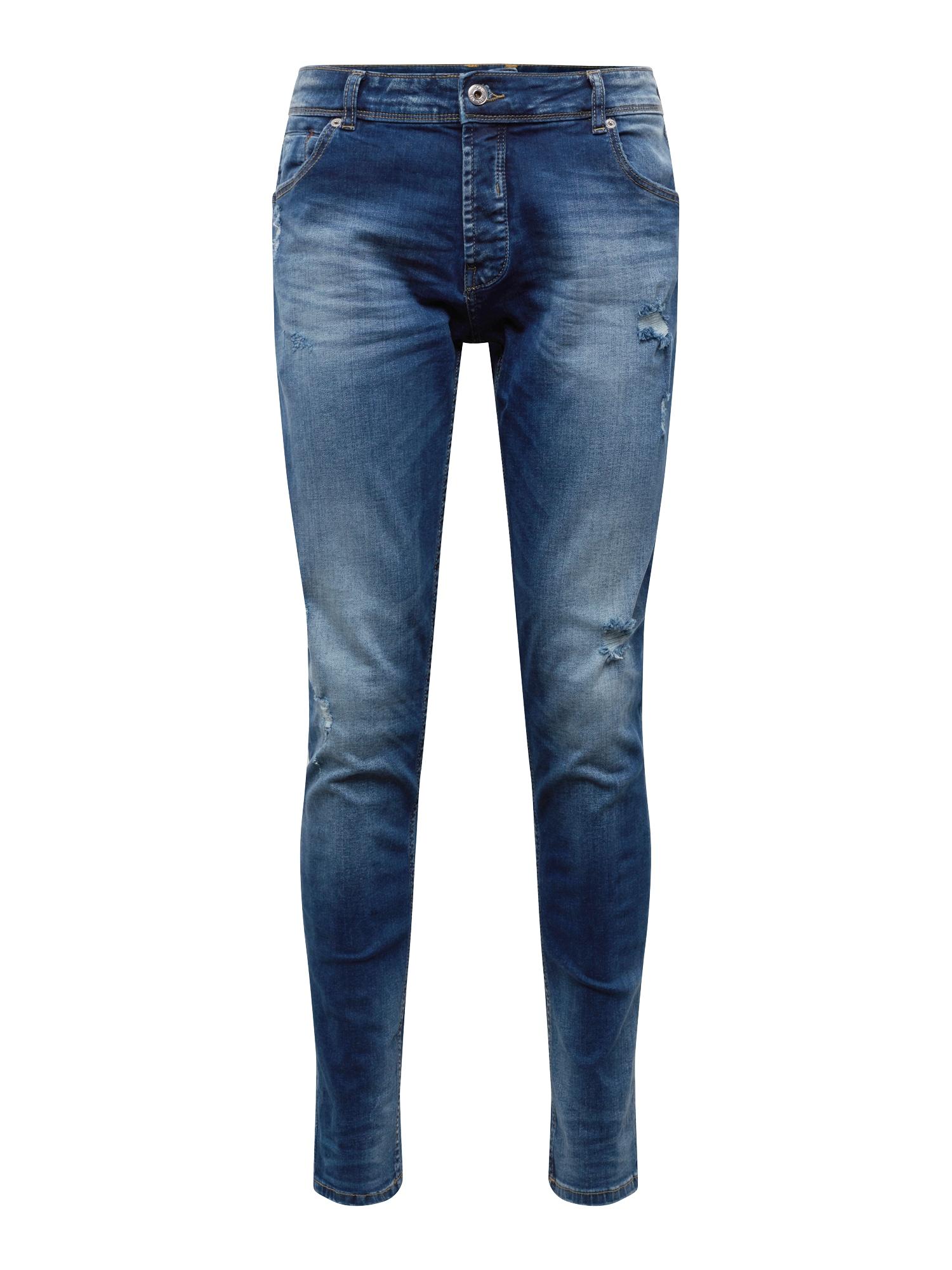 Džíny SLIM-JOY 2 BLUE145 STR modrá džínovina !Solid